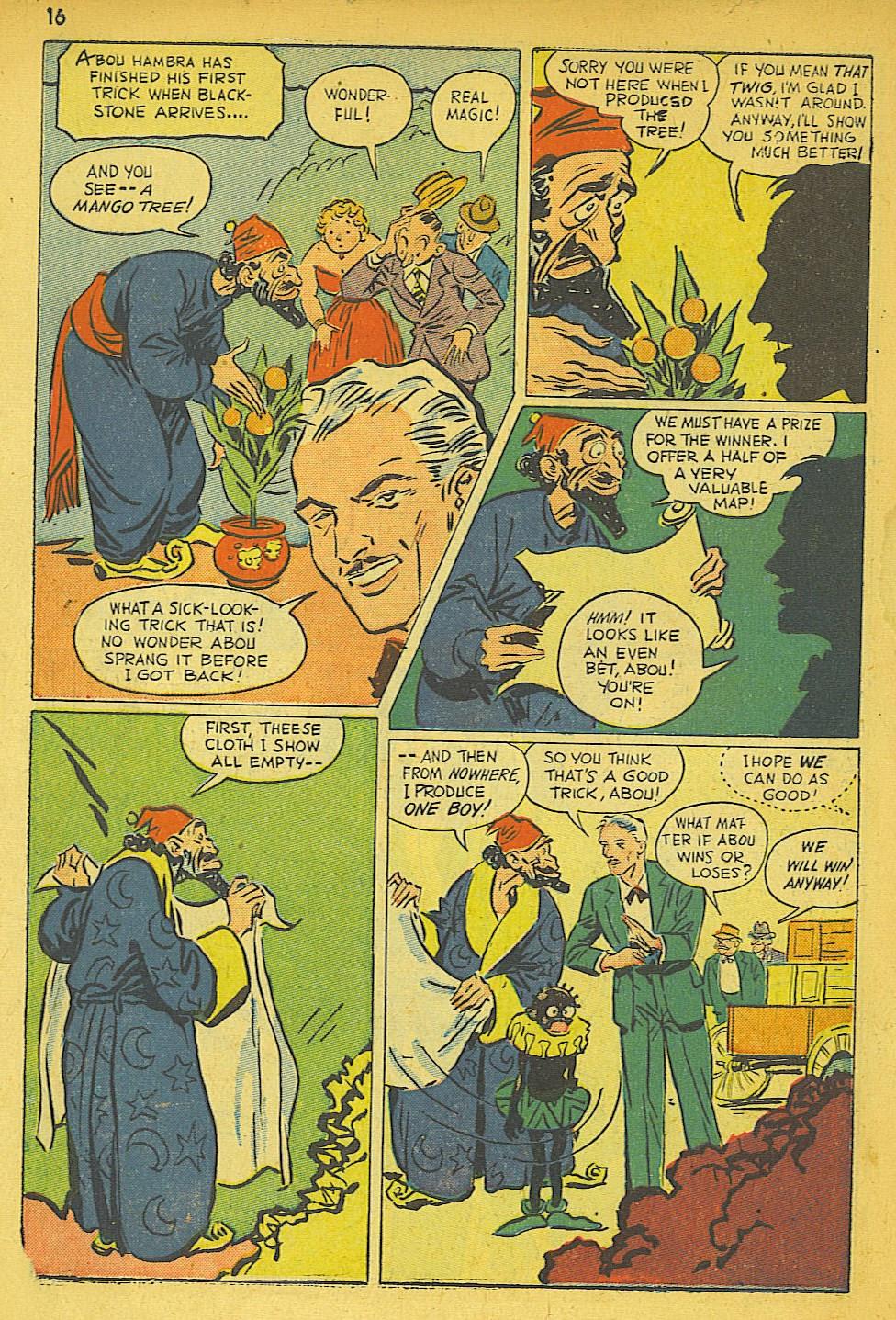 Read online Super-Magician Comics comic -  Issue #19 - 16