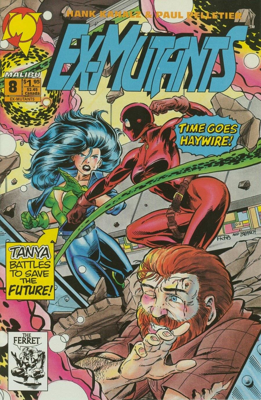 Read online Ex-Mutants comic -  Issue #8 - 1