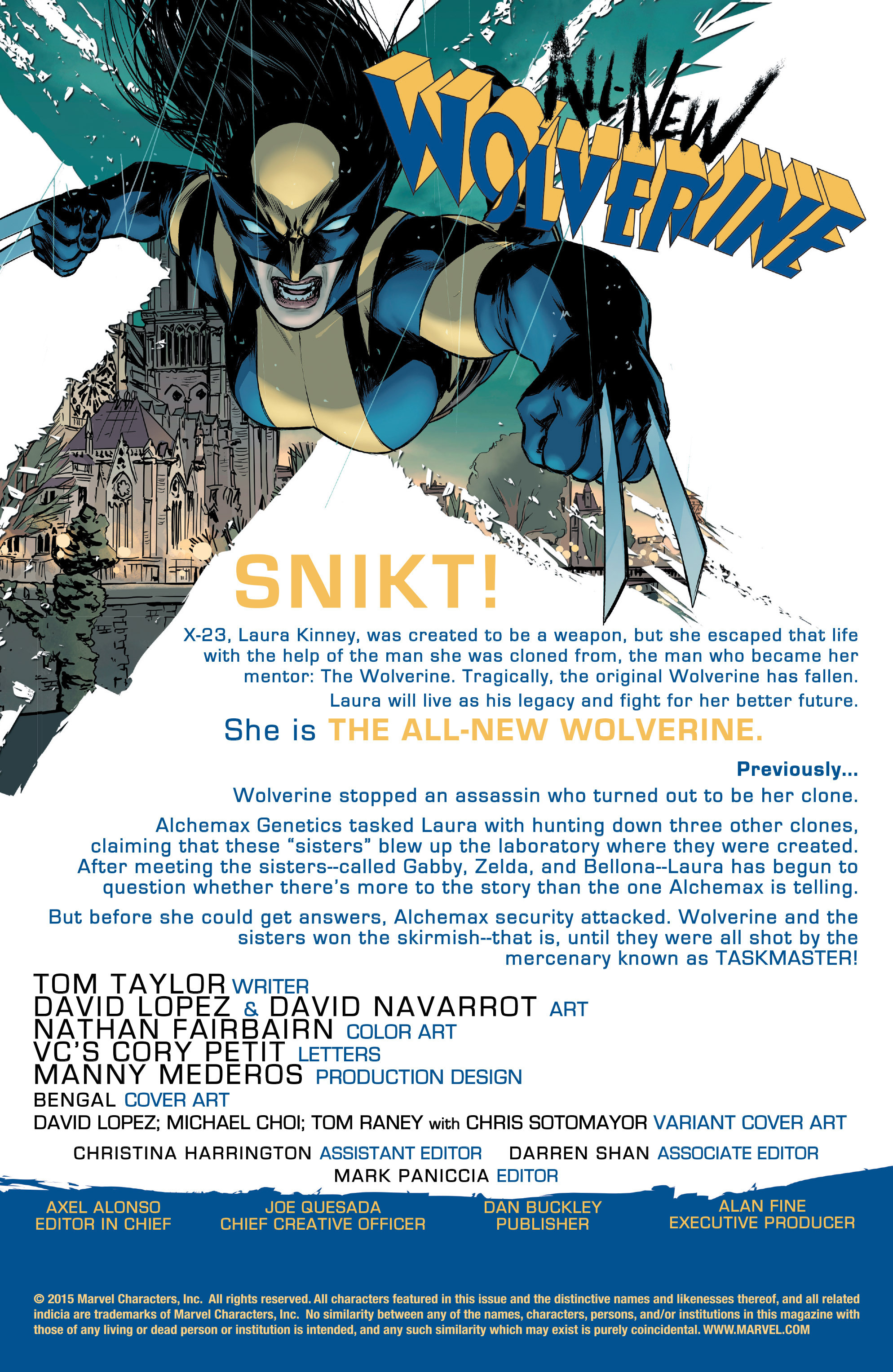 Read online All-New Wolverine (2016) comic -  Issue #3 - 2