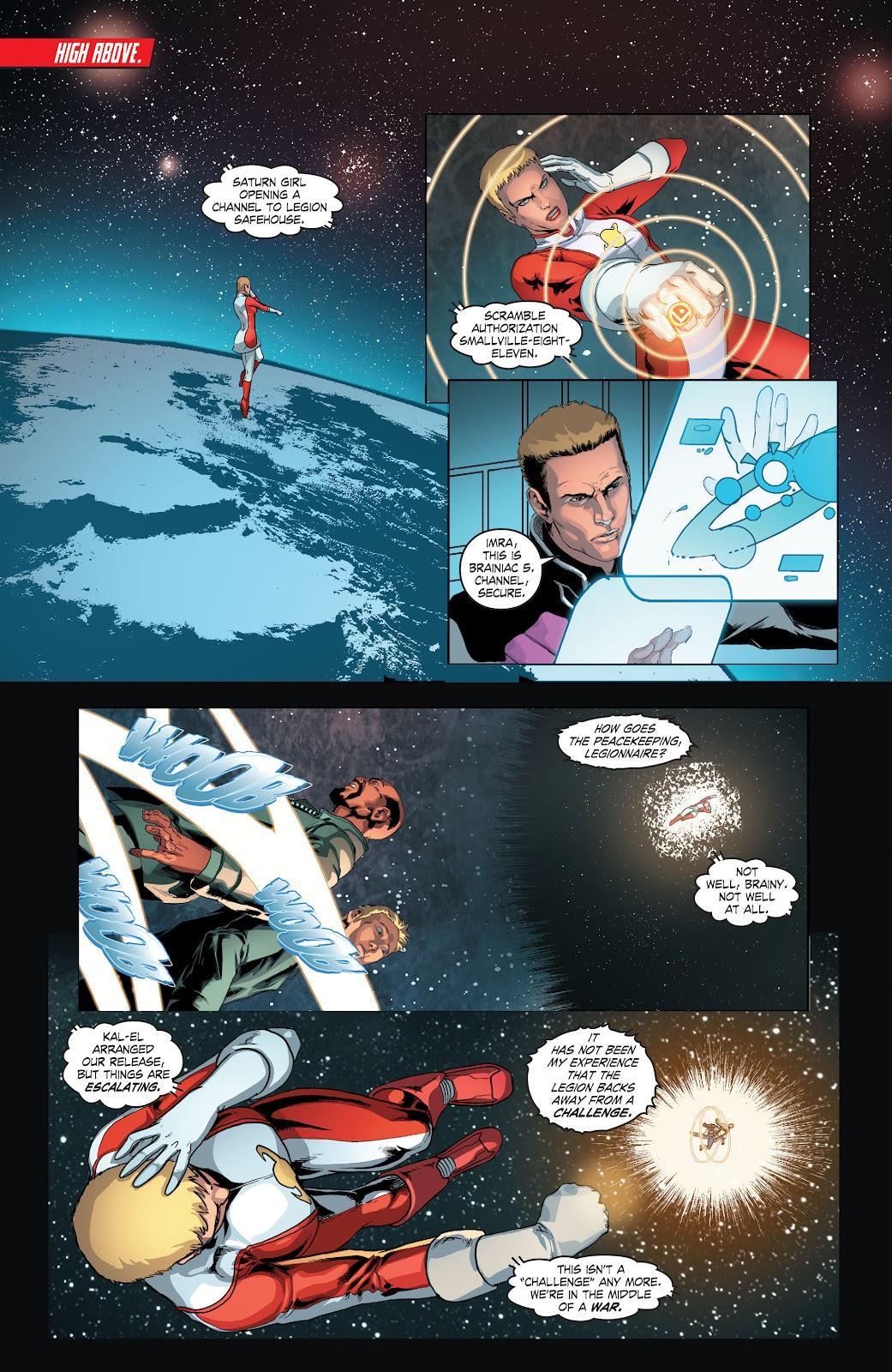 Read online Smallville Season 11 [II] comic -  Issue # TPB 4 - 55