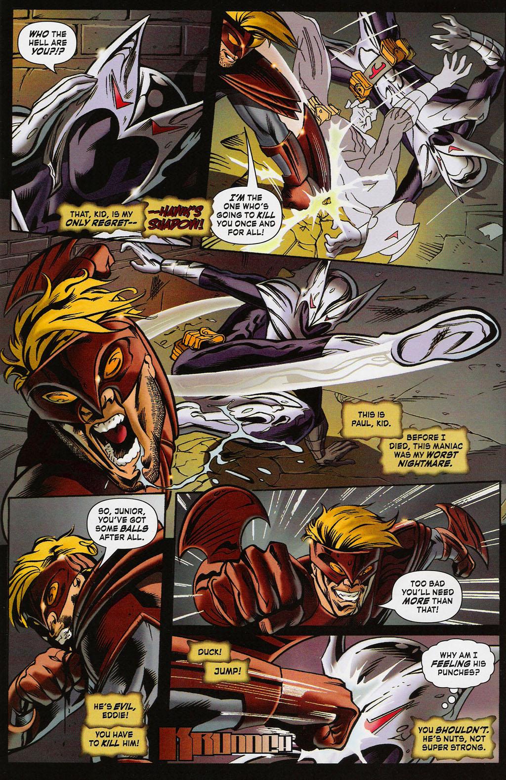 Read online ShadowHawk (2005) comic -  Issue #4 - 4
