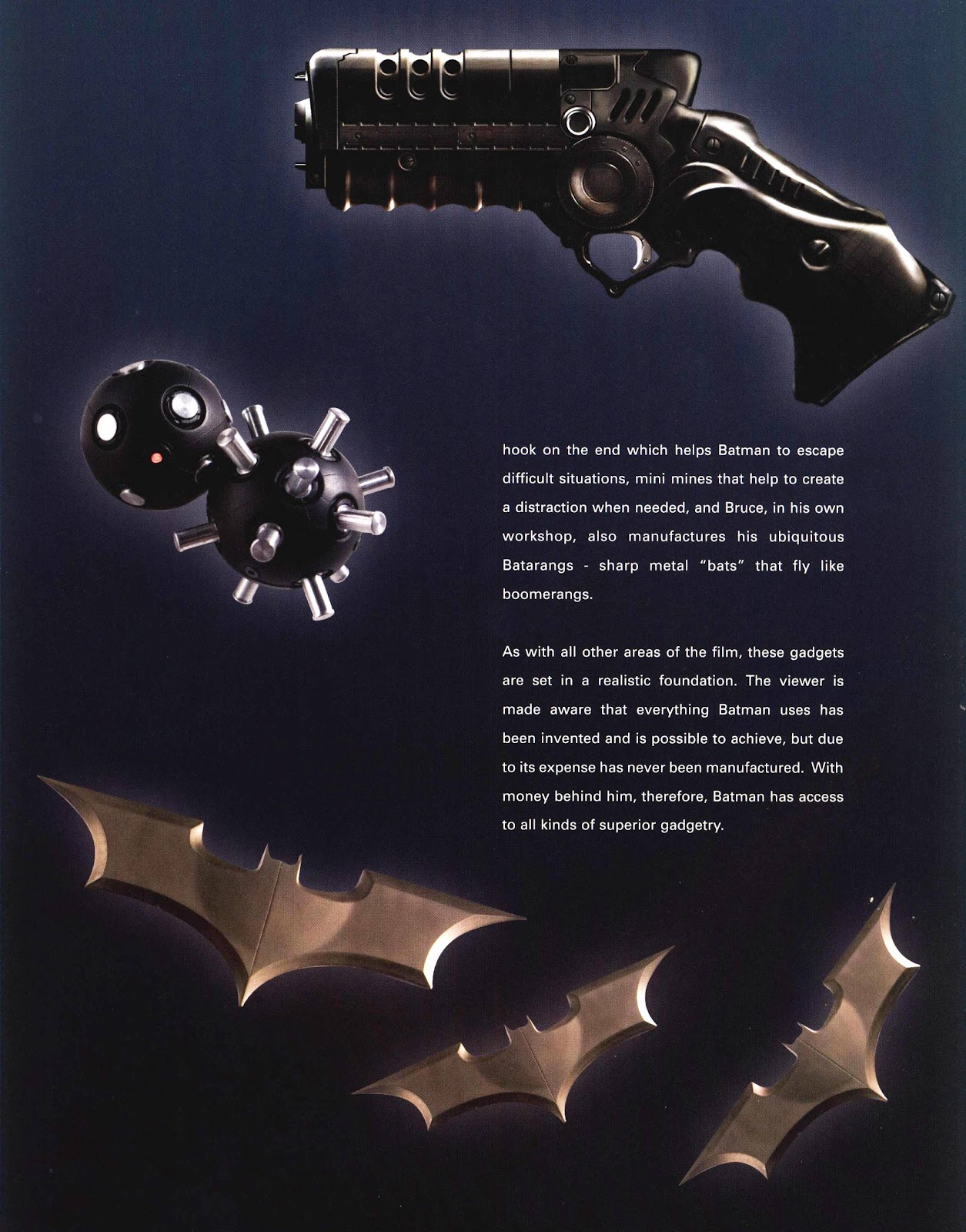Read online Batman Begins: The Official Movie Guide comic -  Issue # TPB (Part 1) - 99