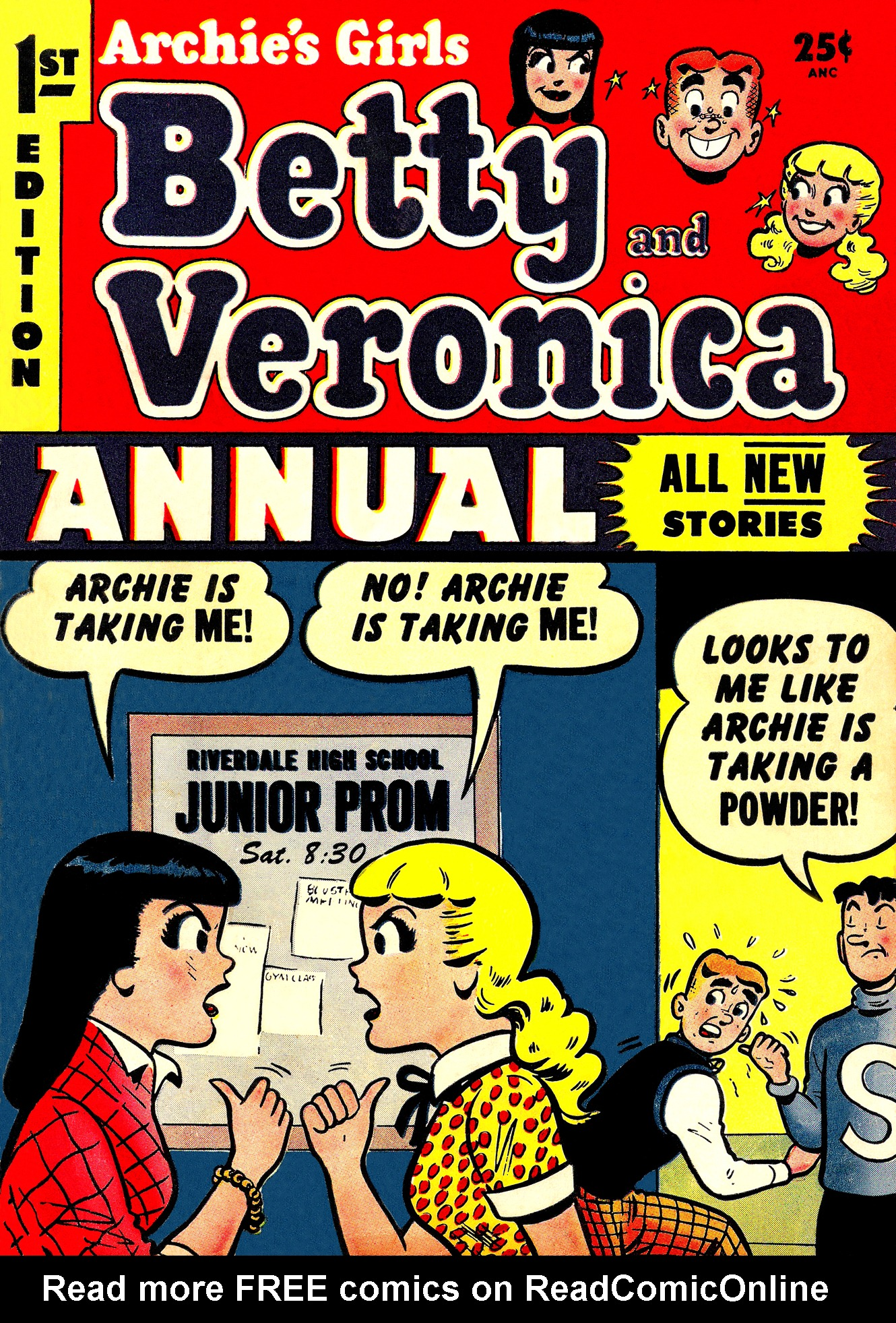 Read online Archie's Girls Betty and Veronica comic -  Issue #Archie's Girls Betty and Veronica Annual 1 - 1