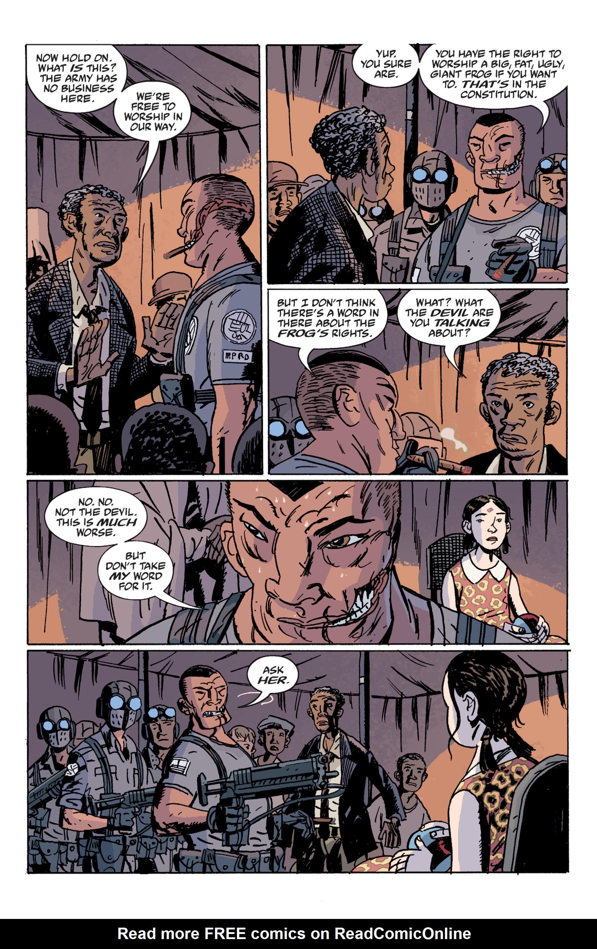 Read online B.P.R.D. (2003) comic -  Issue # TPB 12 - 46