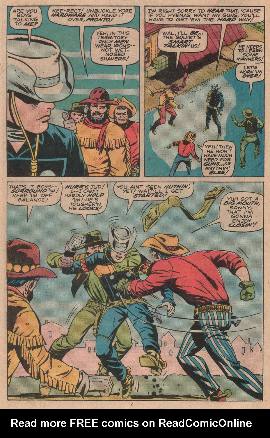 The Rawhide Kid (1955) issue 142 - Page 4