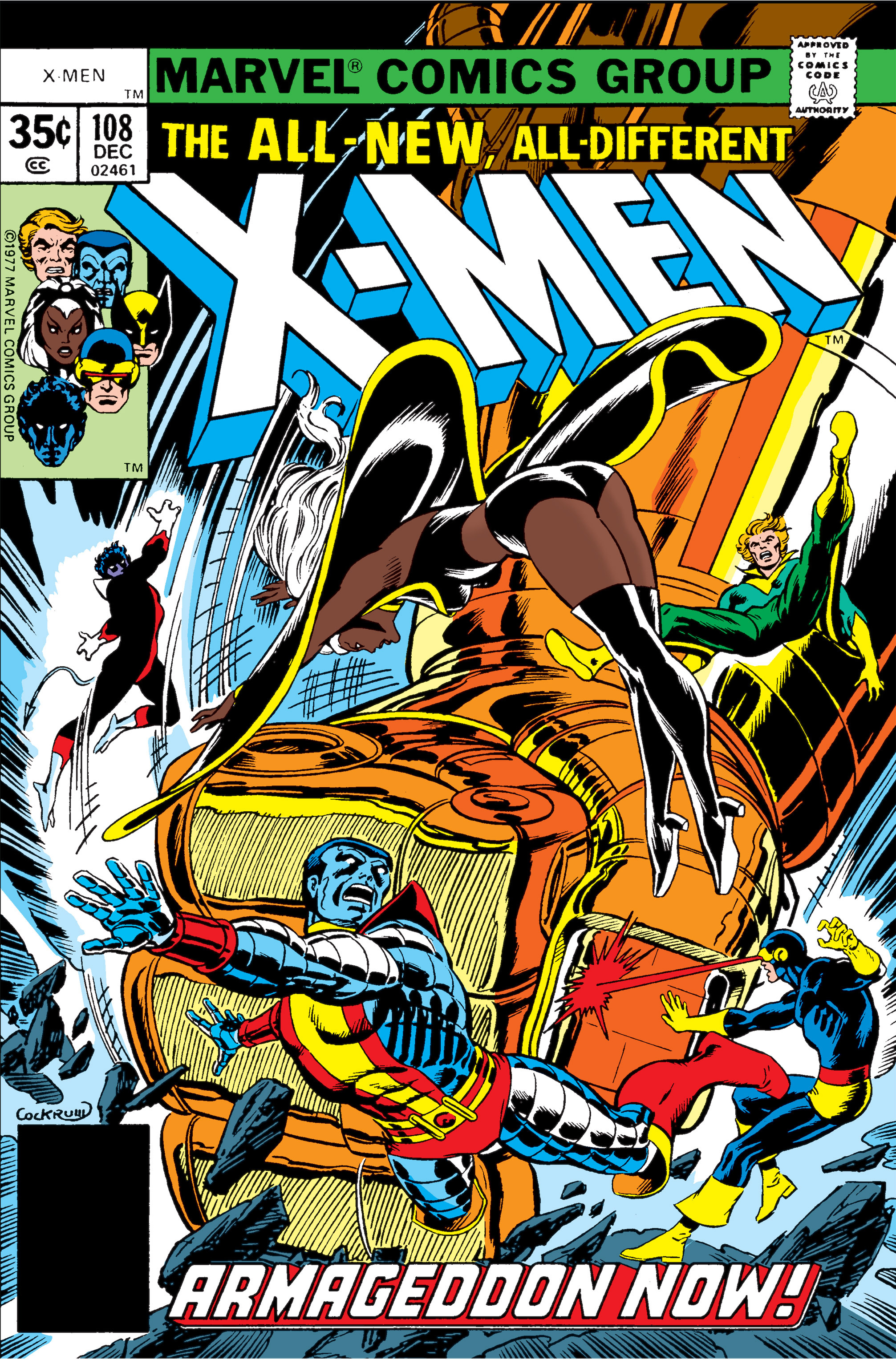 Read online Uncanny X-Men (1963) comic -  Issue #108 - 1