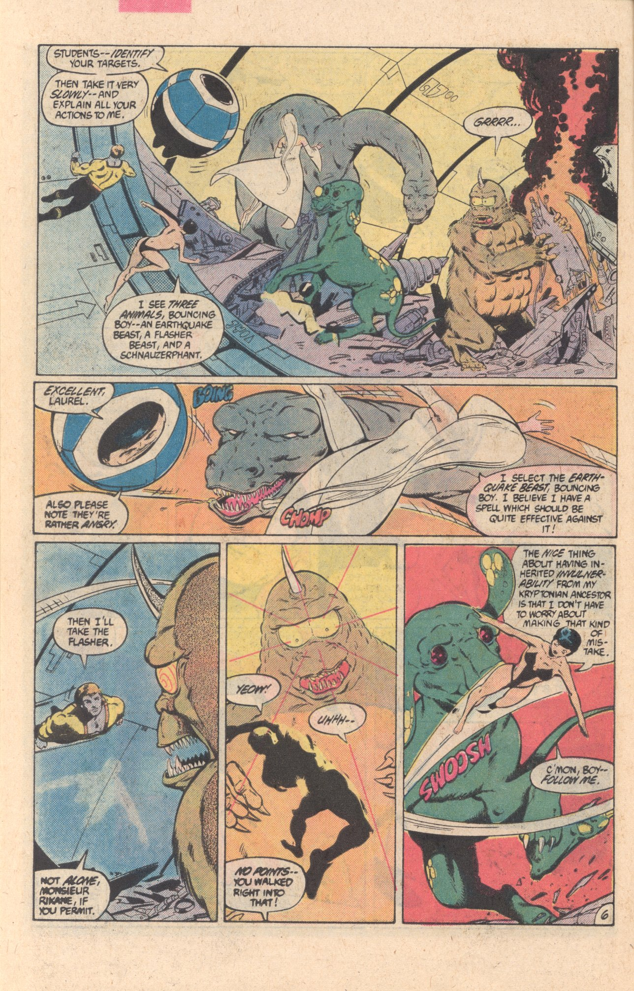 Legion of Super-Heroes (1980) 304 Page 6