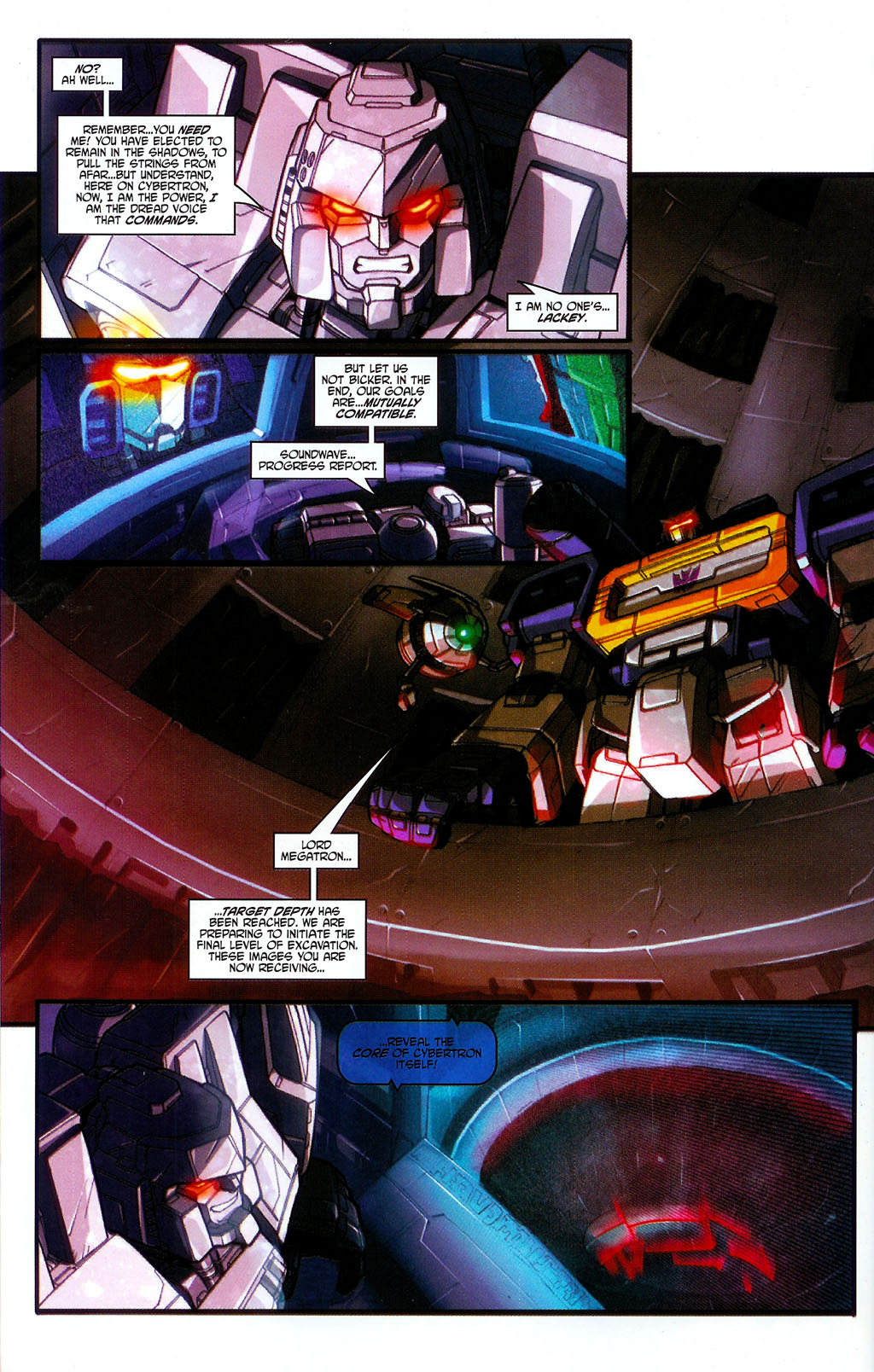"""Read online Transformers War Within: """"The Age of Wrath"""" comic -  Issue #2 - 18"""