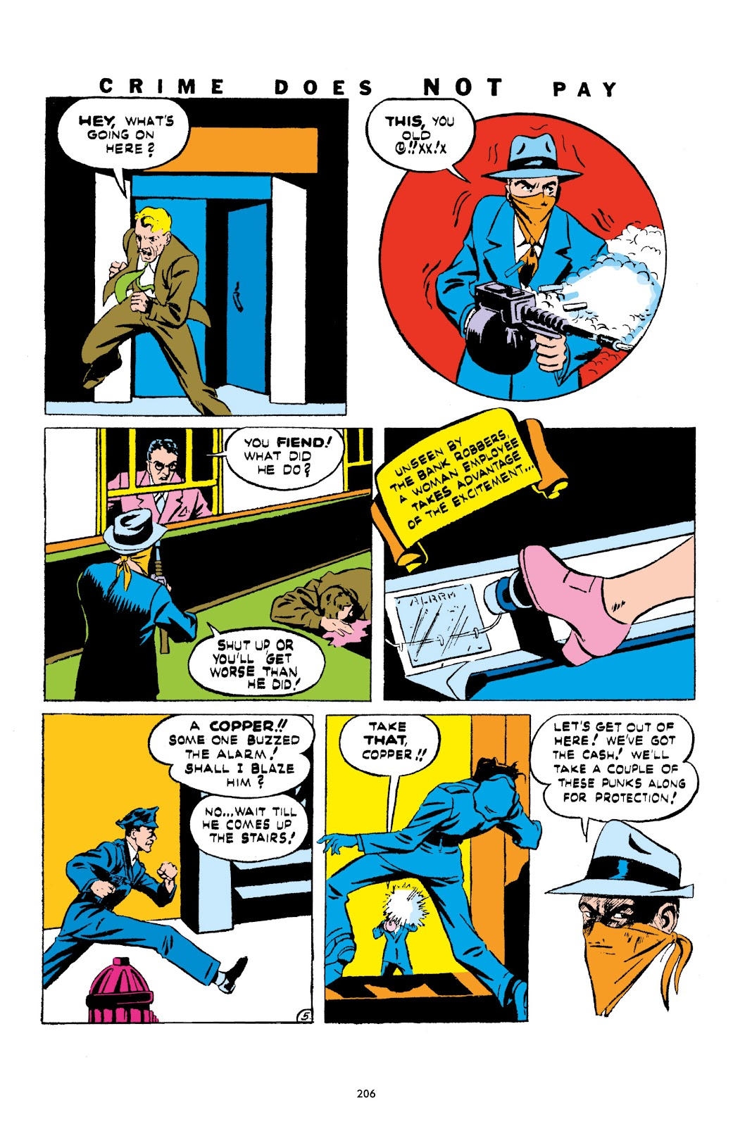 Read online Crime Does Not Pay Archives comic -  Issue # TPB 1 (Part 3) - 9