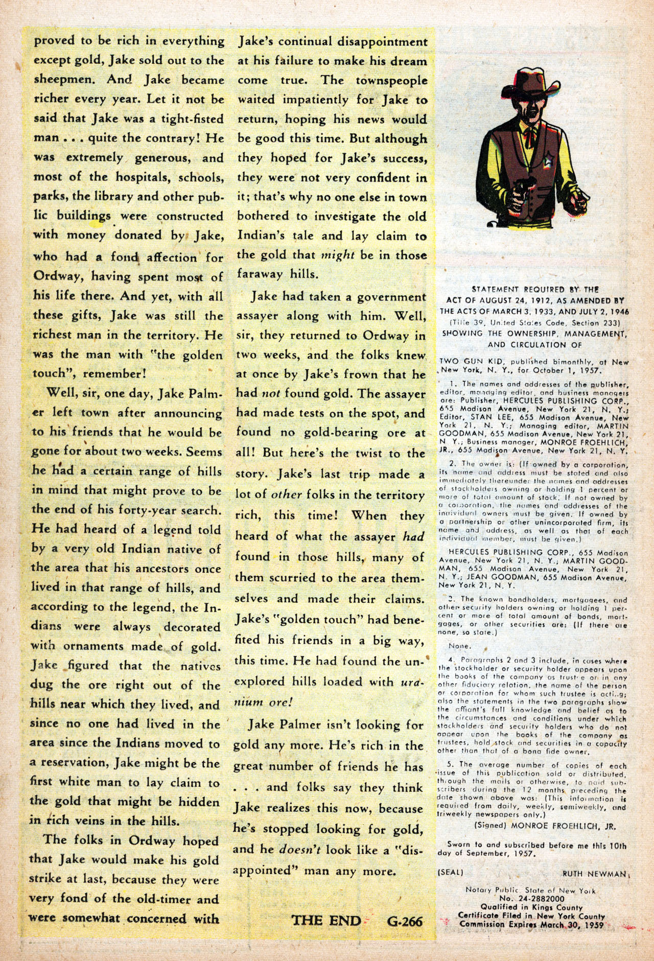 Read online Two-Gun Kid comic -  Issue #42 - 26