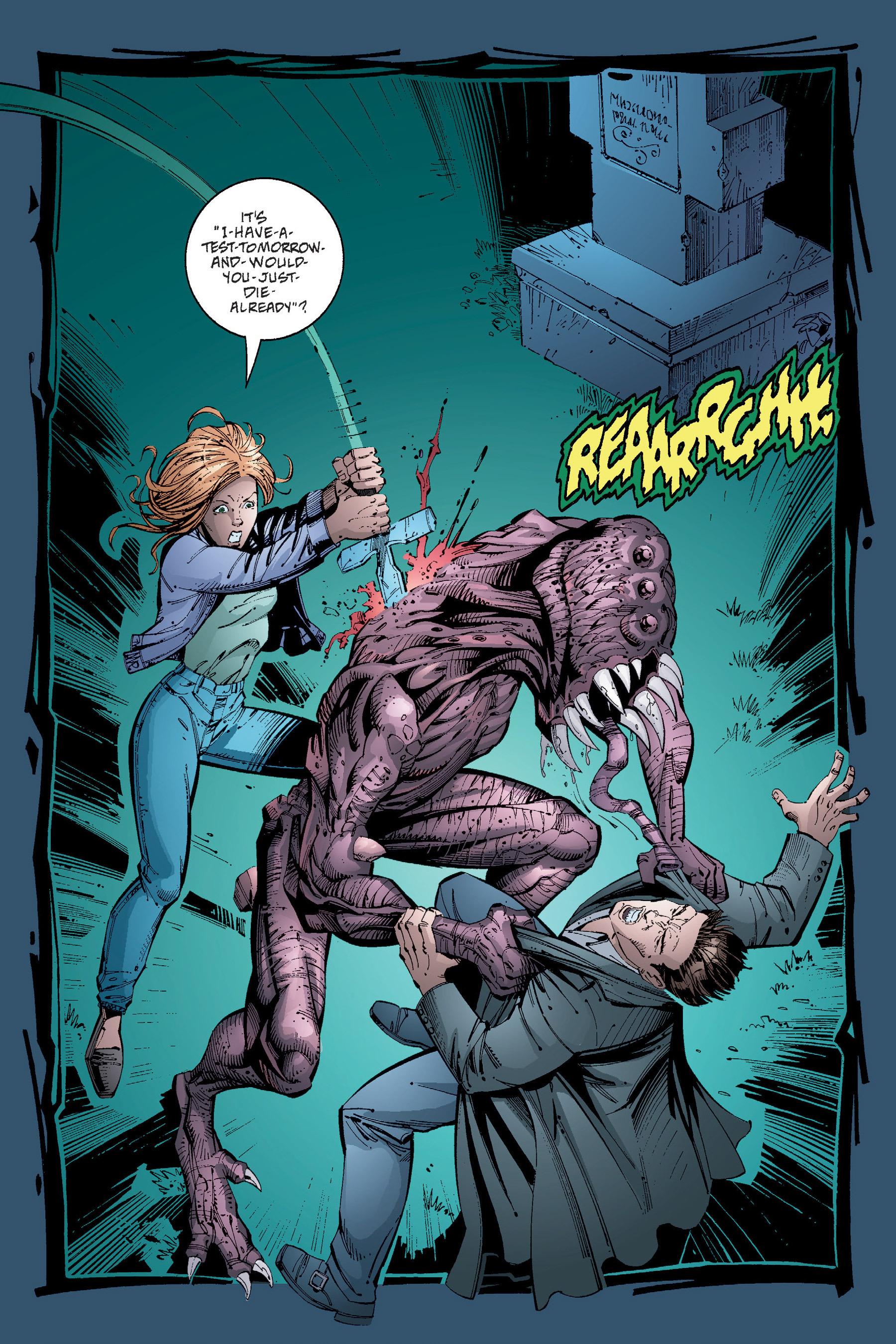 Read online Buffy the Vampire Slayer: Omnibus comic -  Issue # TPB 4 - 280