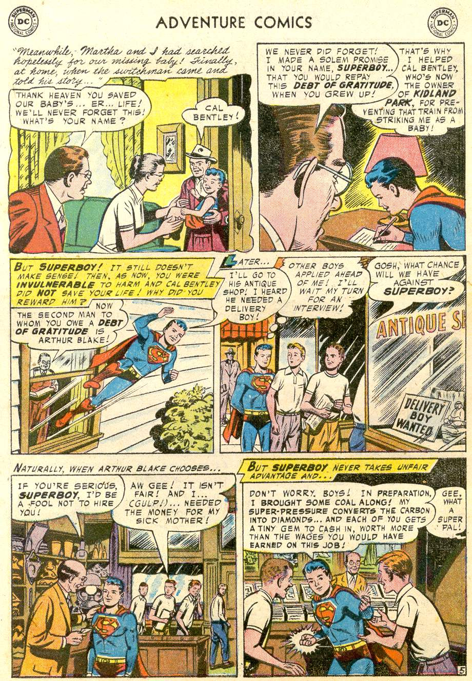 Read online Adventure Comics (1938) comic -  Issue #231 - 8