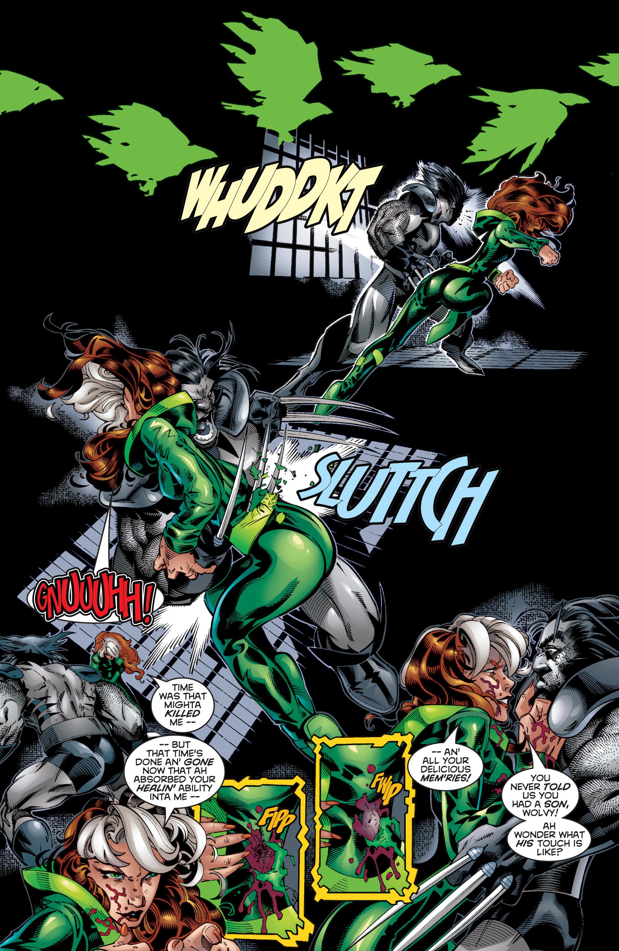 Read online Uncanny X-Men (1963) comic -  Issue #353 - 4