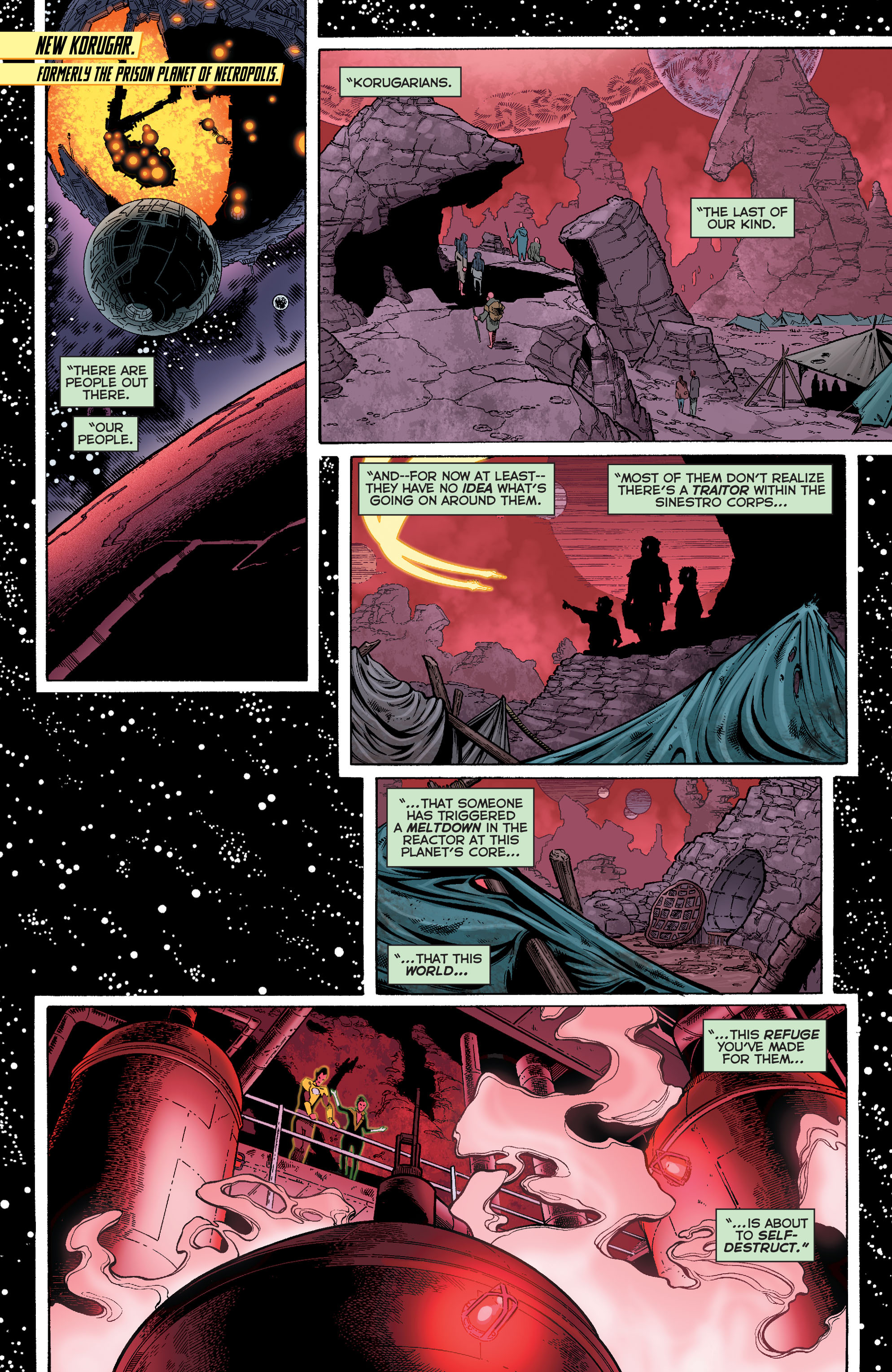 Read online Sinestro comic -  Issue #12 - 4