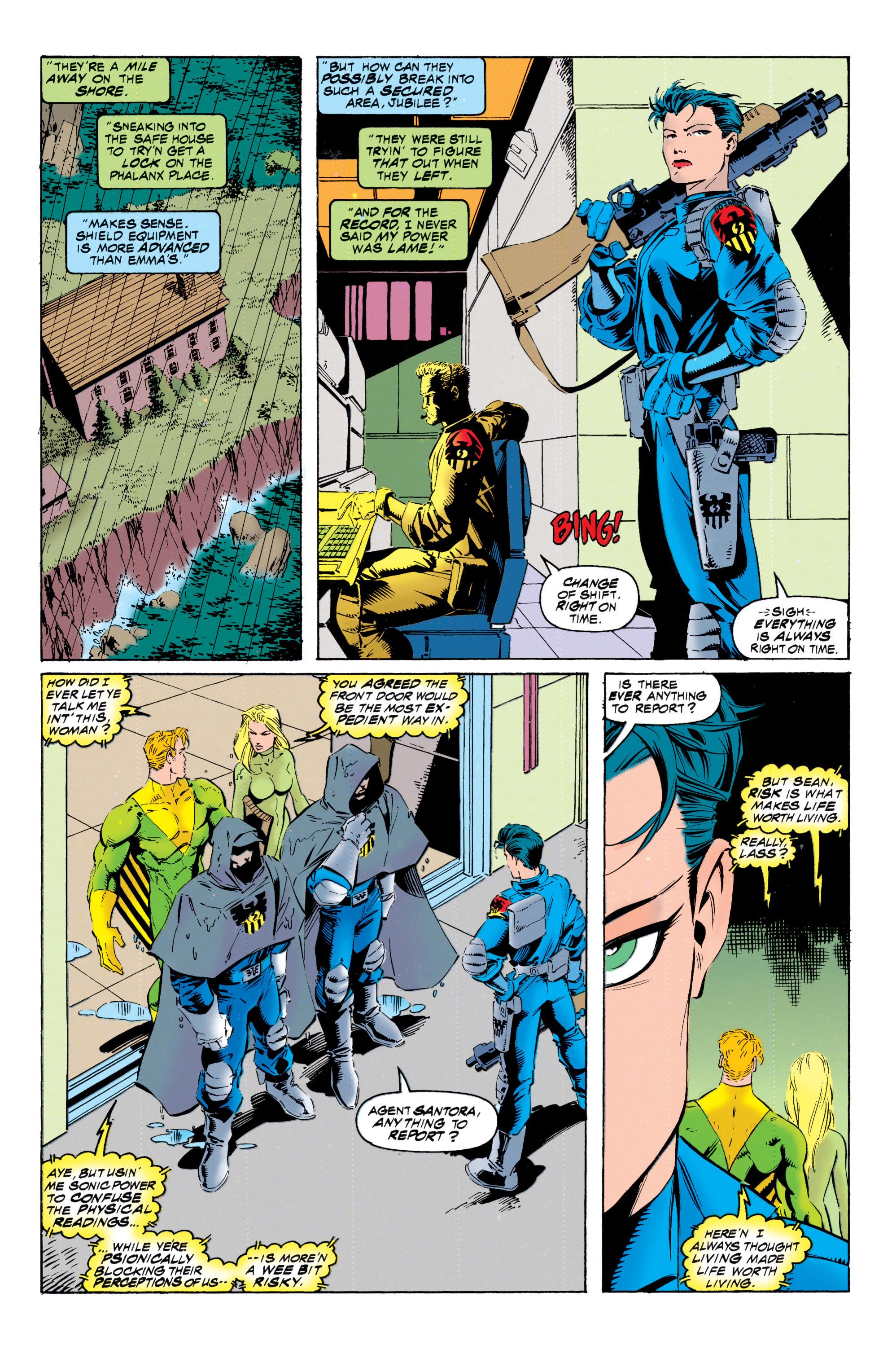 Read online Uncanny X-Men (1963) comic -  Issue #317 - 16