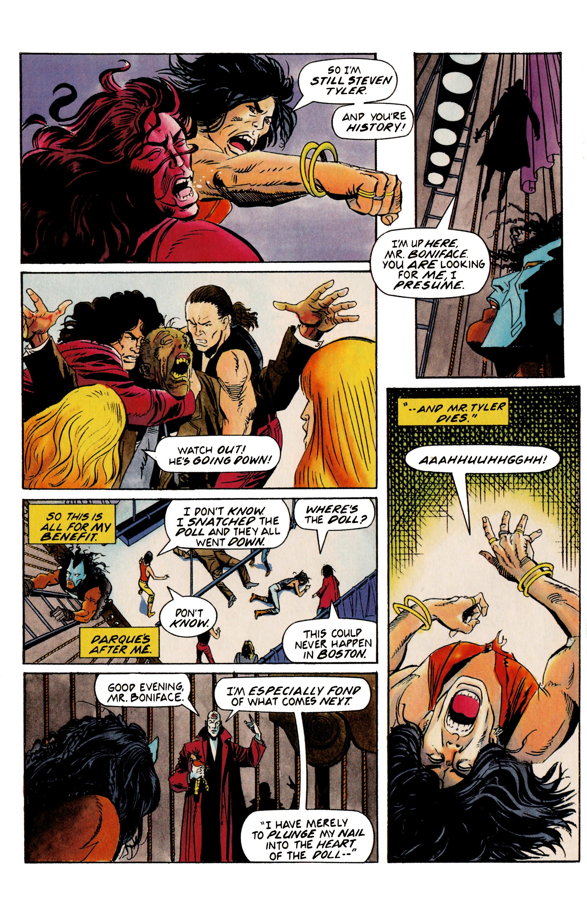 Read online Shadowman (1992) comic -  Issue #19 - 21