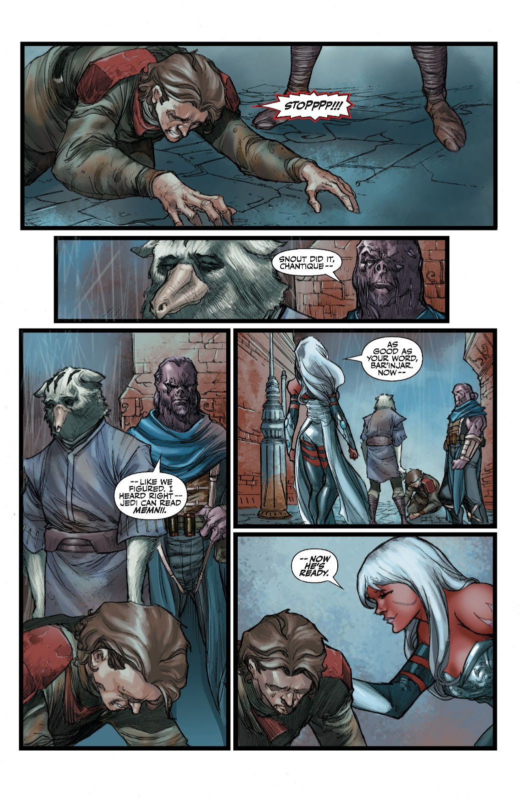 Read online Star Wars Legends: The Old Republic - Epic Collection comic -  Issue # TPB 3 (Part 2) - 84
