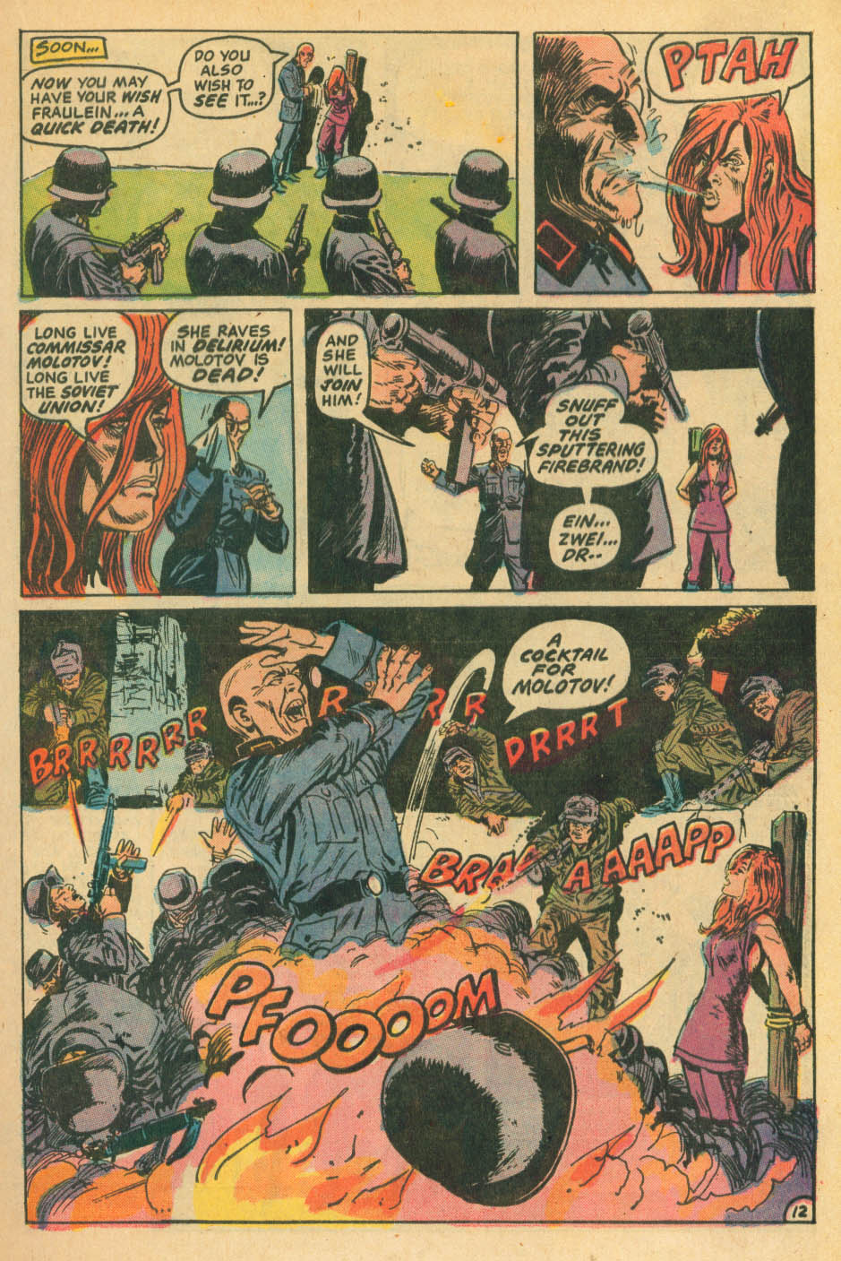 Read online Star Spangled War Stories (1952) comic -  Issue #172 - 12
