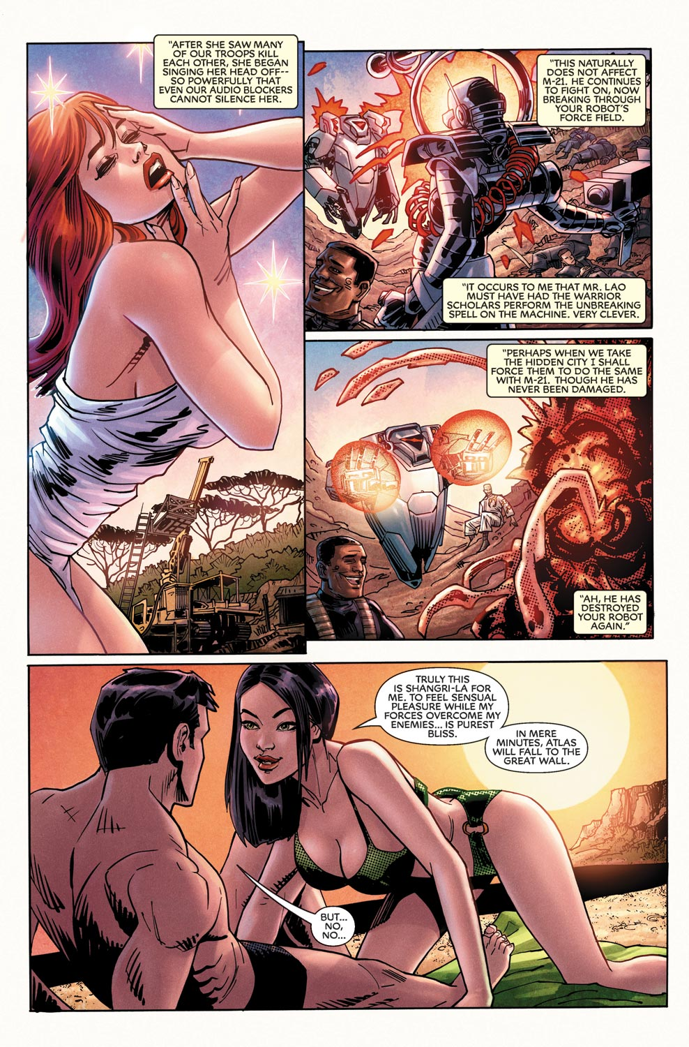 Read online Agents Of Atlas (2009) comic -  Issue #11 - 4