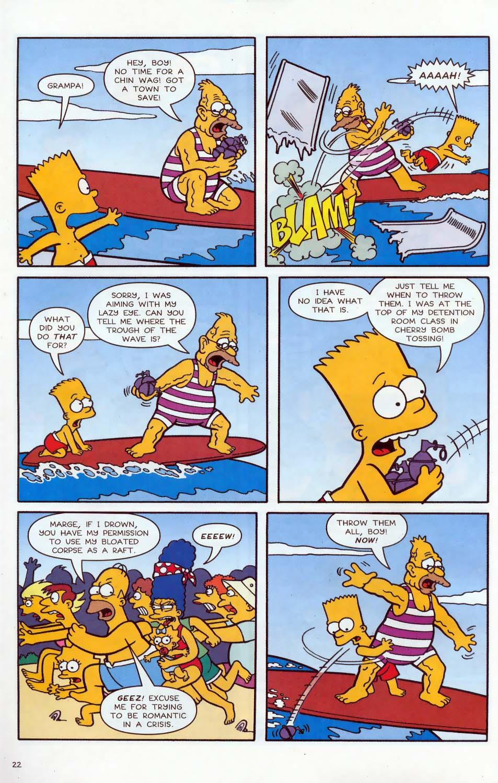 Read online Simpsons Comics comic -  Issue #86 - 23