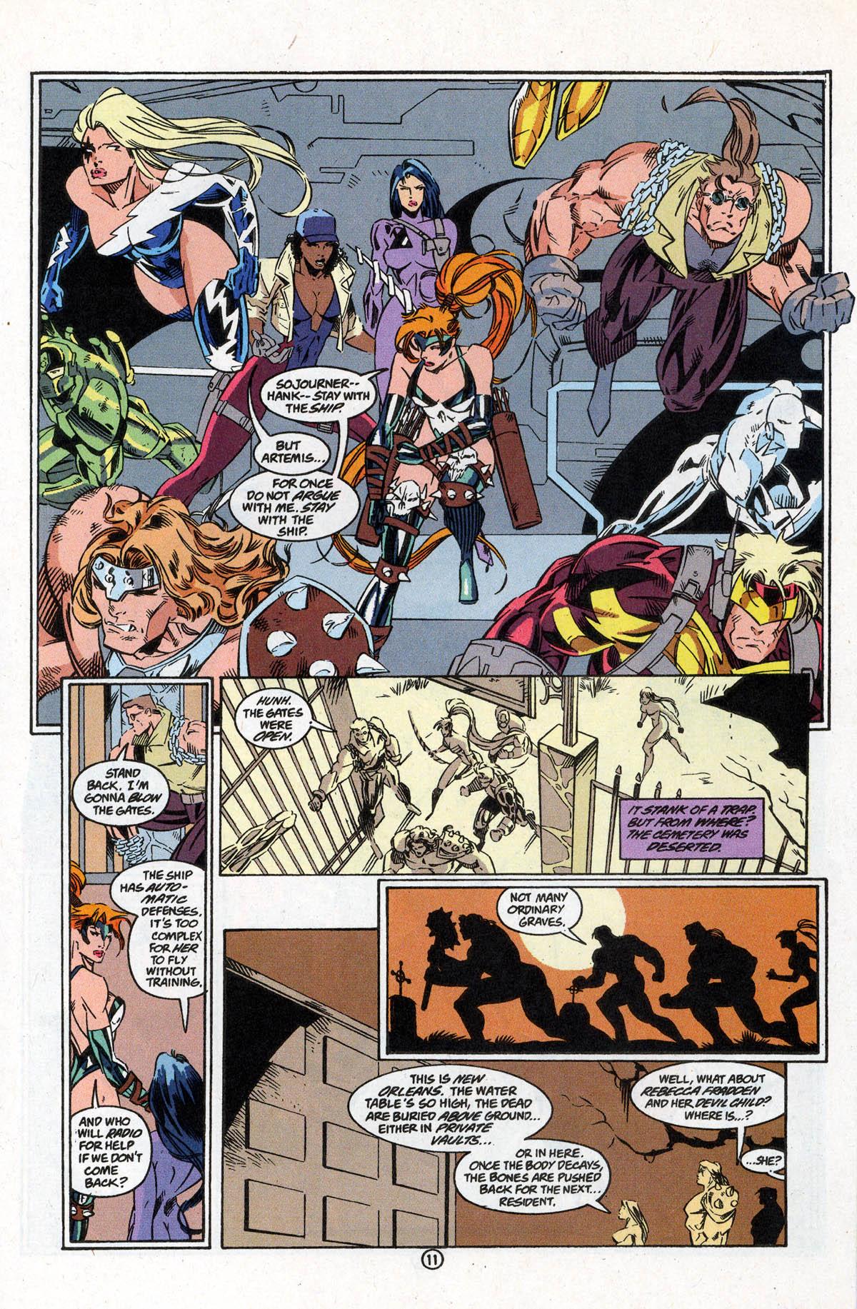 Read online Artemis: Requiem comic -  Issue #5 - 17