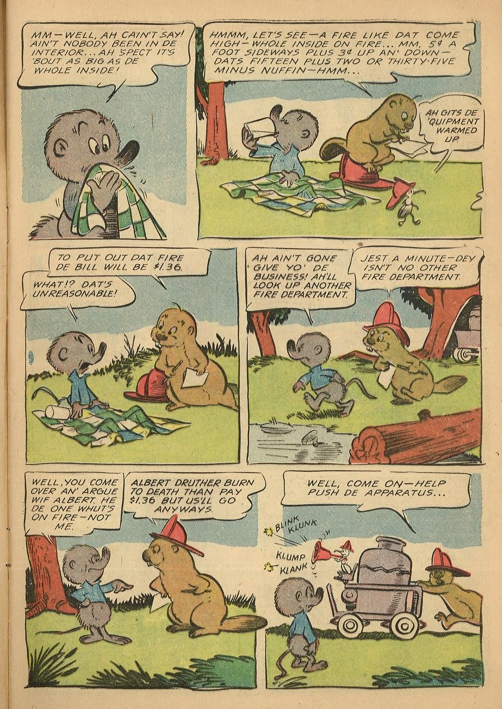 Read online Animal Comics comic -  Issue #24 - 7