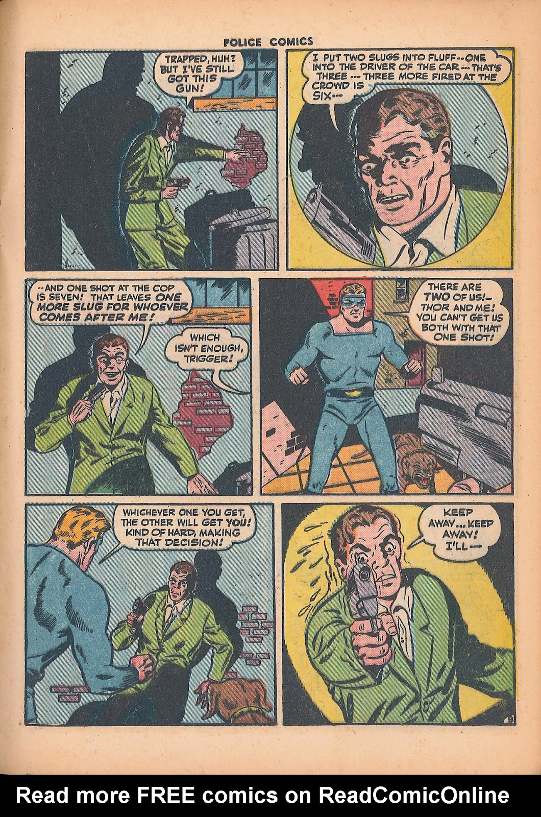 Police Comics issue 44 - Page 27