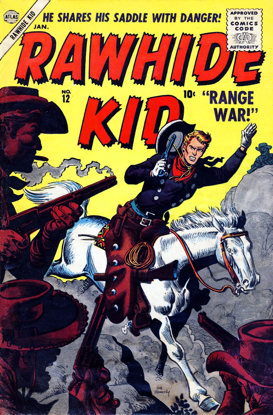 The Rawhide Kid (1955) issue 12 - Page 1