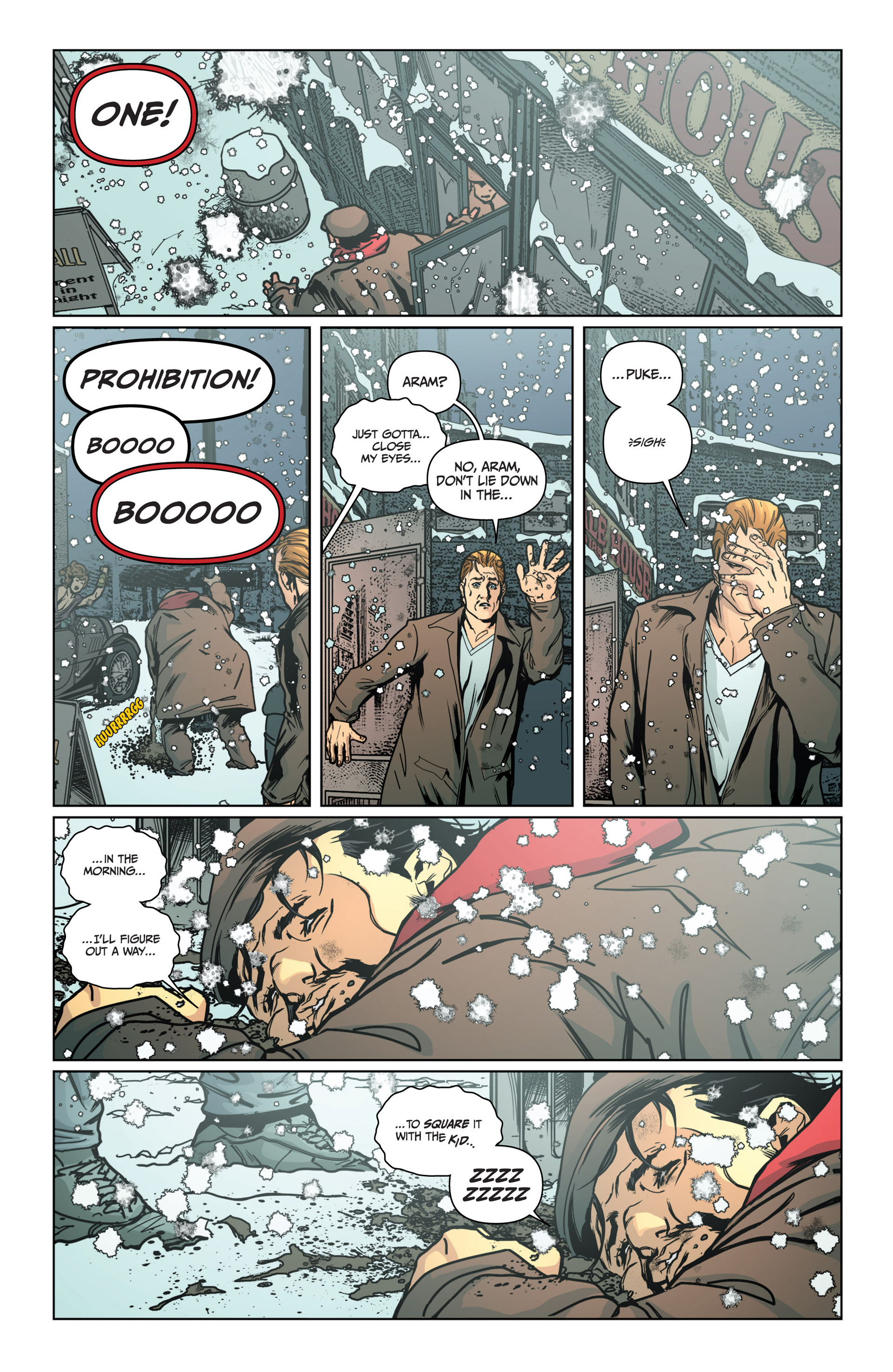 Read online Archer and Armstrong comic -  Issue #15 - 20