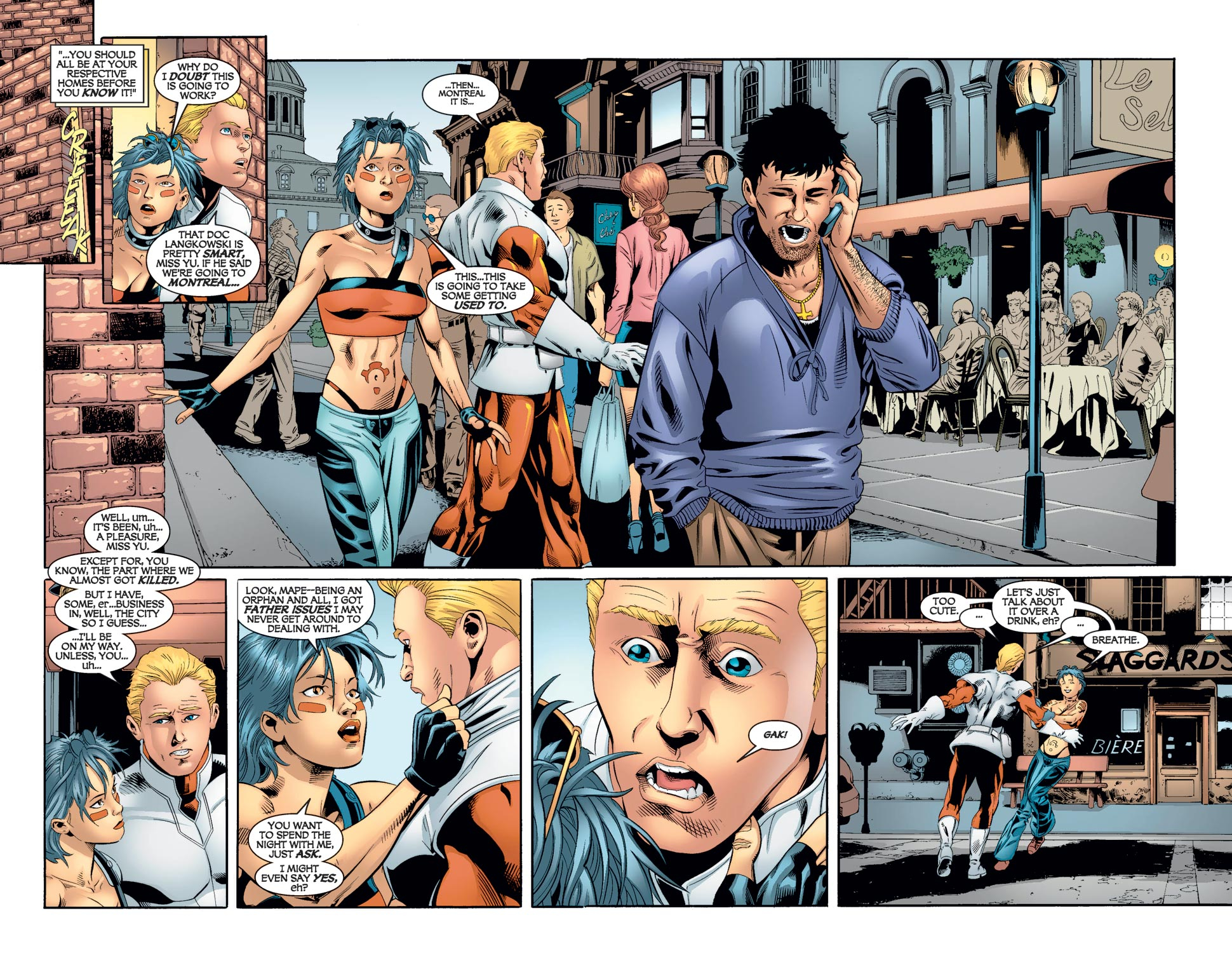 Read online Alpha Flight (2004) comic -  Issue #7 - 7