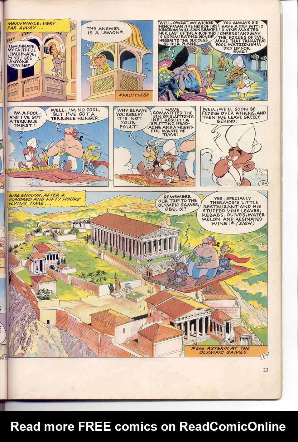 Read online Asterix comic -  Issue #28 - 20
