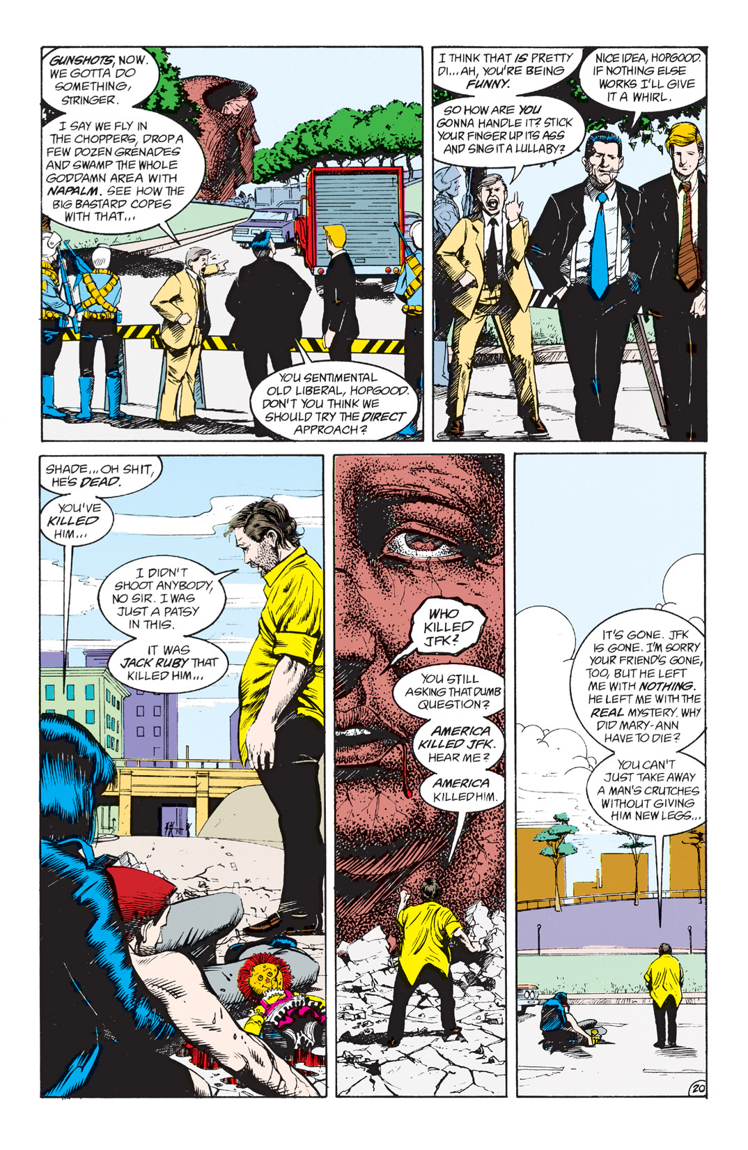 Read online Shade, the Changing Man comic -  Issue #3 - 22