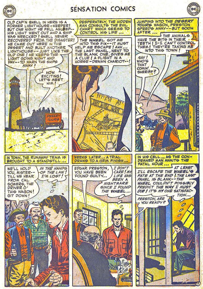 Read online Sensation (Mystery) Comics comic -  Issue #108 - 9