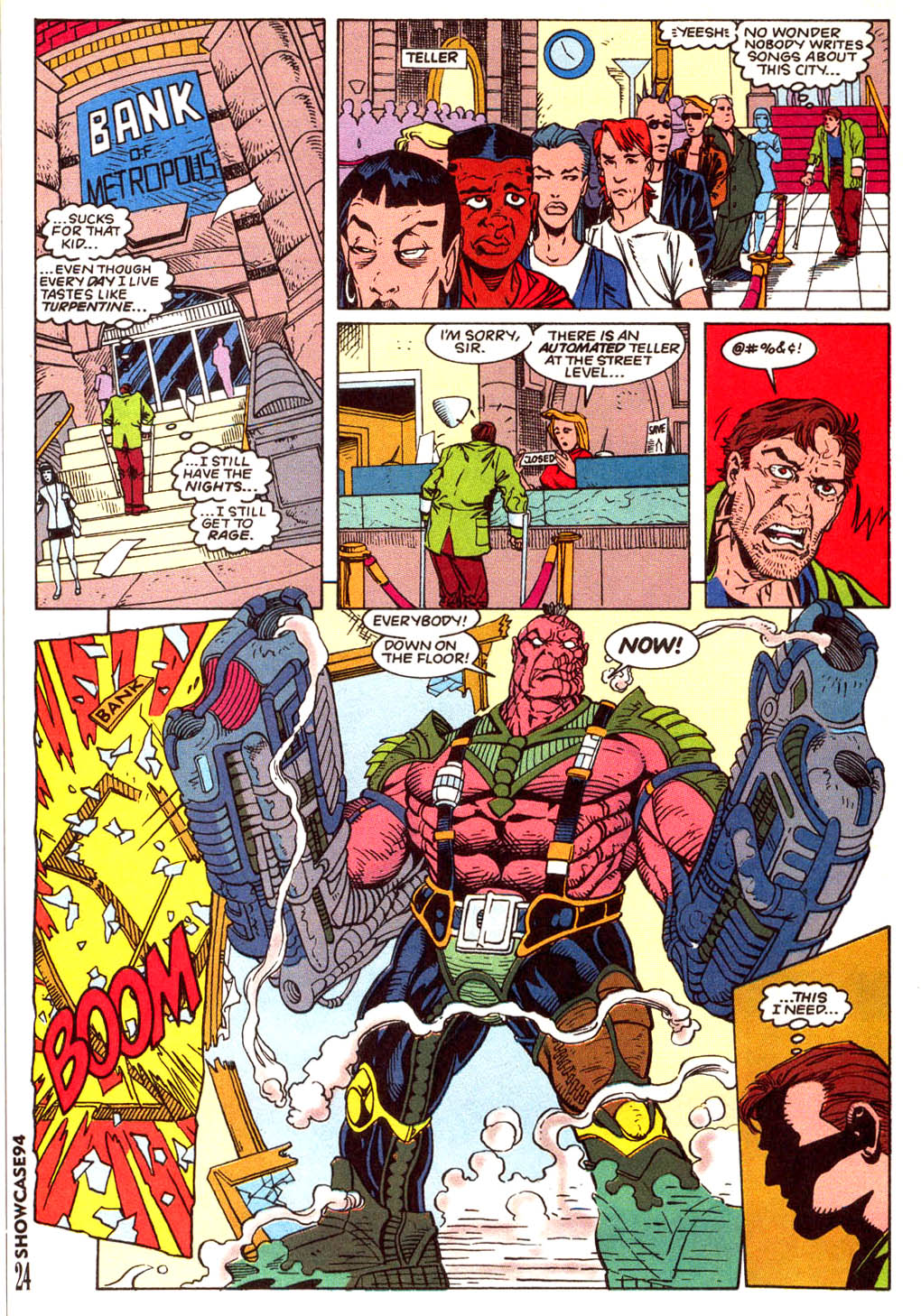 Read online Showcase '94 comic -  Issue #5 - 21