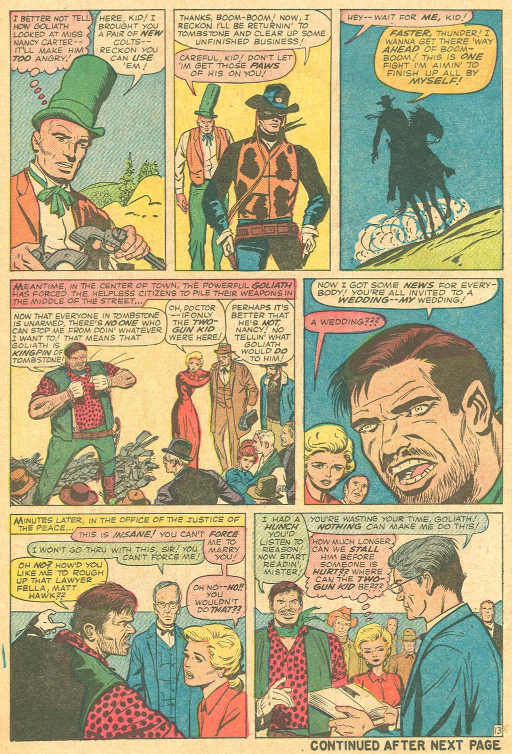 Read online Two-Gun Kid comic -  Issue #69 - 18