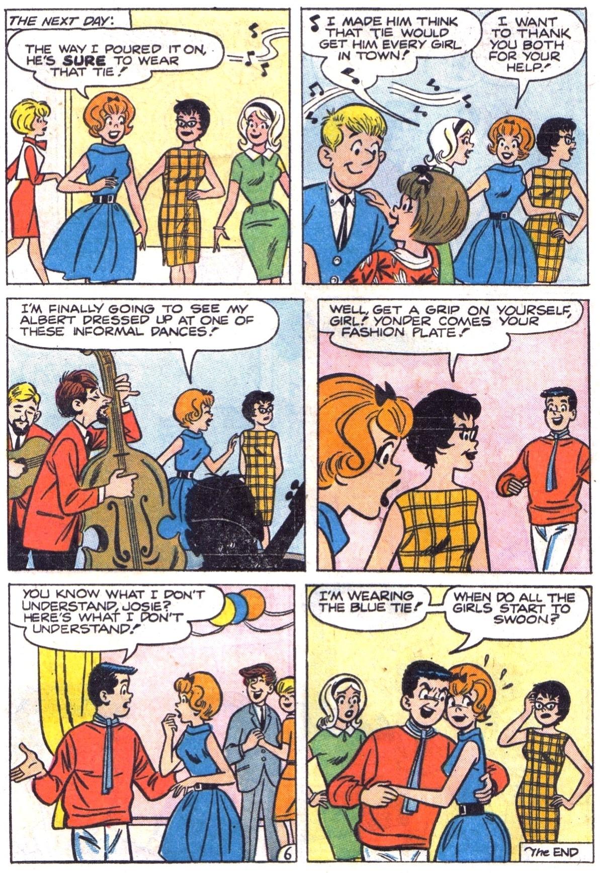 Read online She's Josie comic -  Issue #5 - 8
