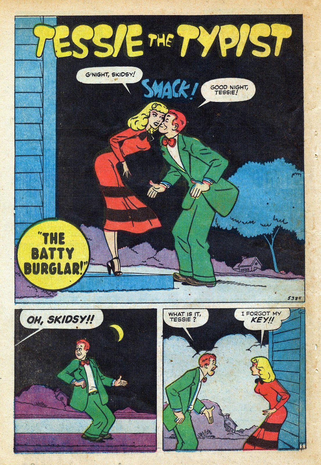 Read online Nellie The Nurse (1945) comic -  Issue #20 - 36