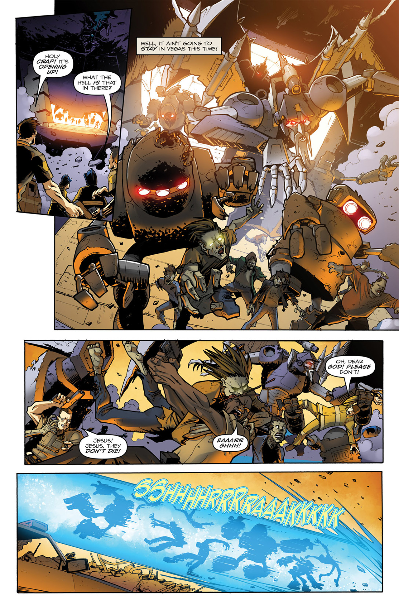 Read online Transformers: Infestation comic -  Issue #1 - 7