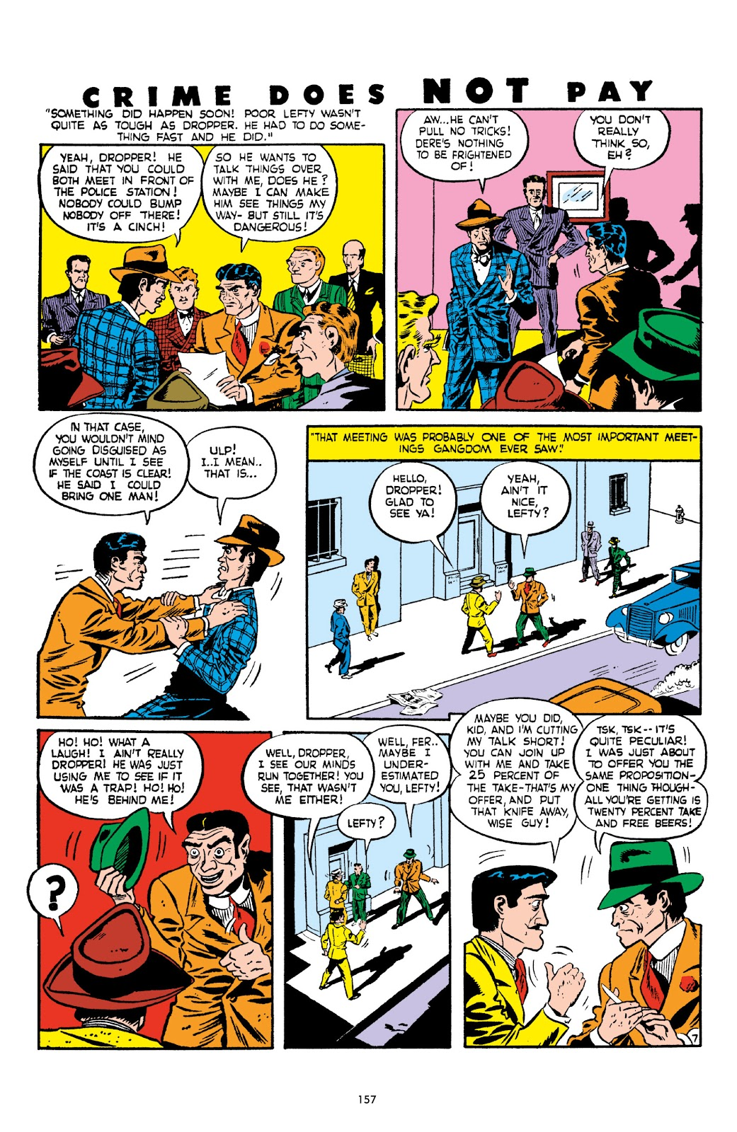 Read online Crime Does Not Pay Archives comic -  Issue # TPB 2 (Part 2) - 57