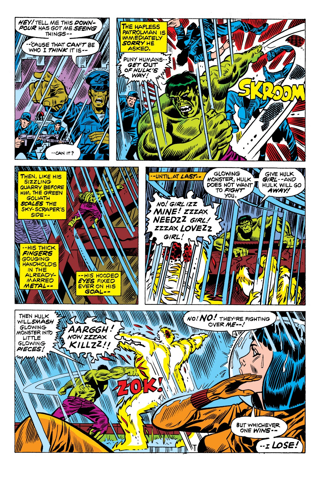 Read online Marvel Masterworks: The Incredible Hulk comic -  Issue # TPB 10 (Part 3) - 54