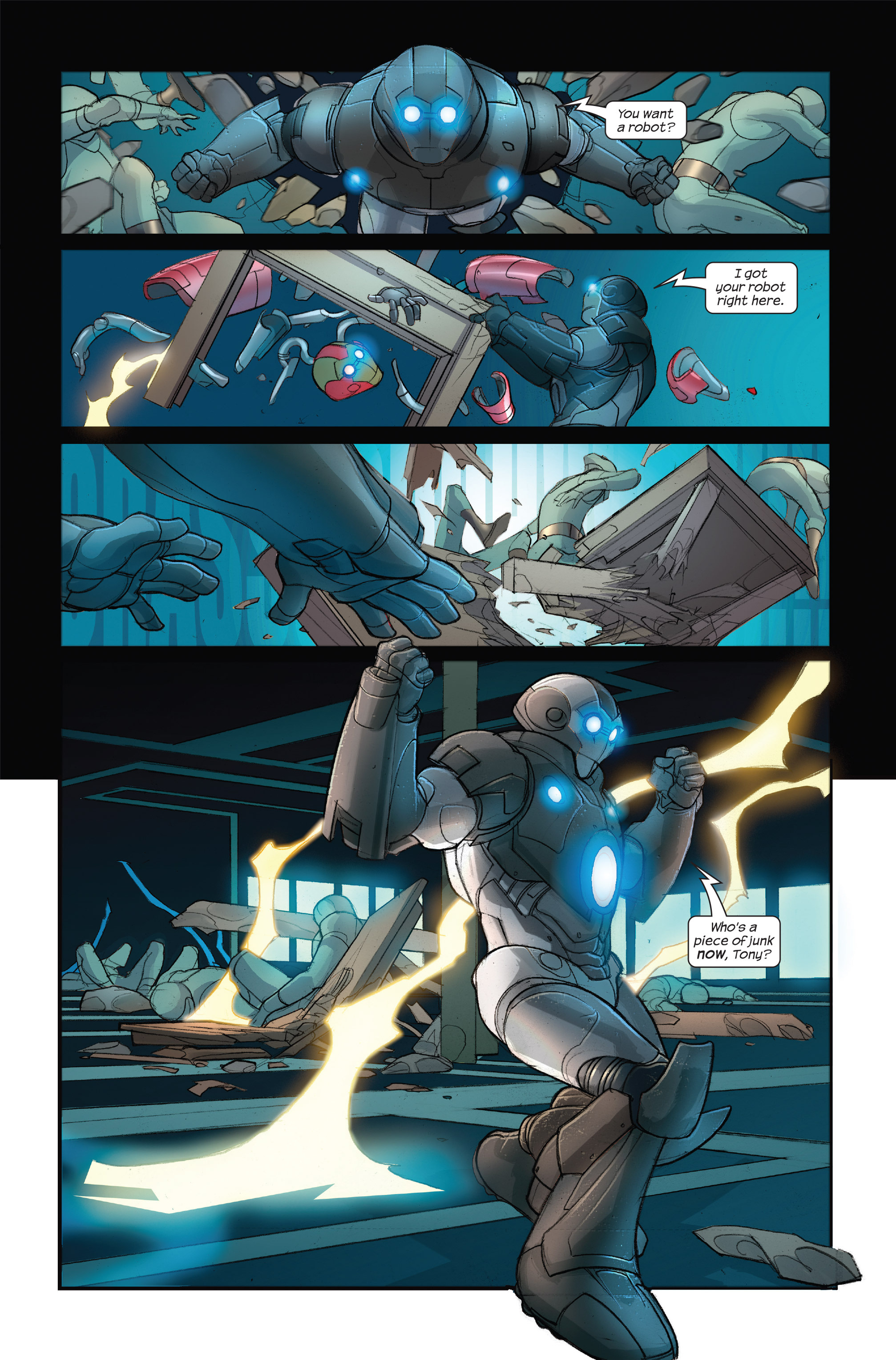 Read online Ultimate Iron Man II comic -  Issue #3 - 23