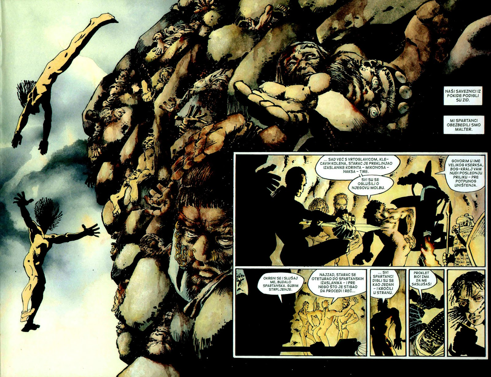 Read online 300 (2007) comic -  Issue # TPB - 40