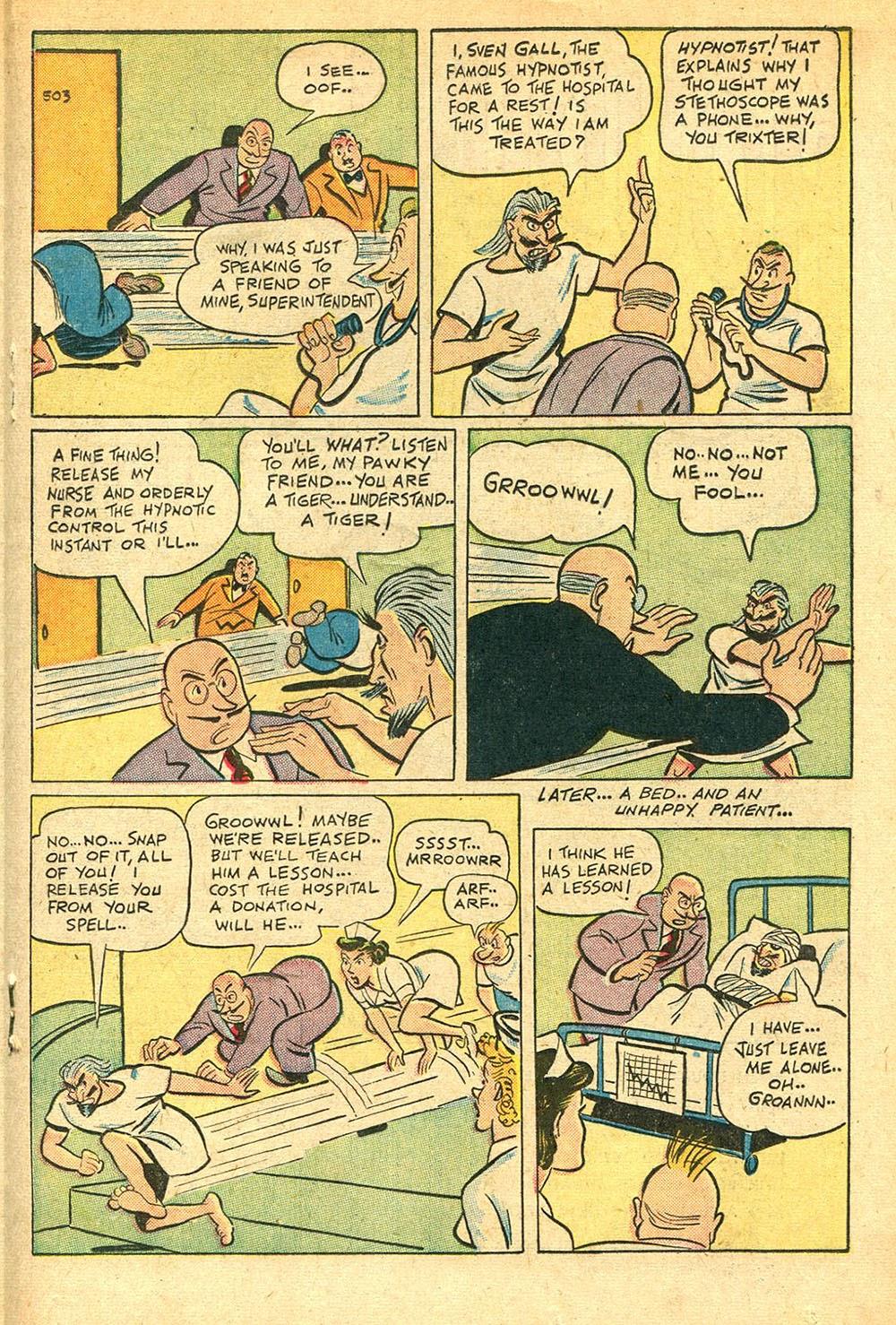 Read online Super-Magician Comics comic -  Issue #56 - 27