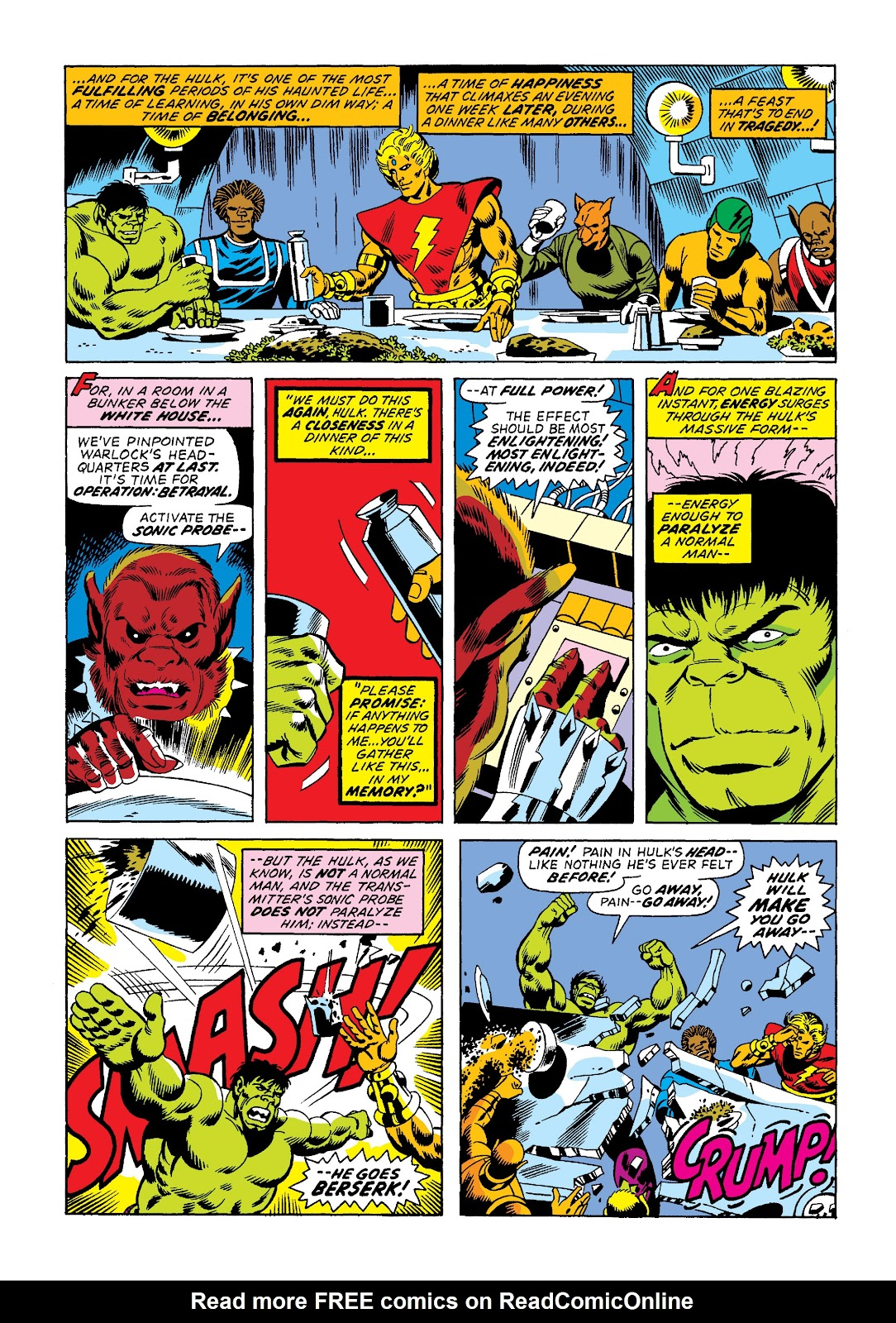 Read online Marvel Masterworks: The Incredible Hulk comic -  Issue # TPB 10 (Part 2) - 38