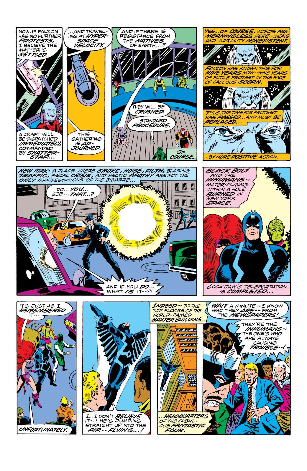 Read online Marvel Masterworks: The Inhumans comic -  Issue # TPB 2 (Part 1) - 55