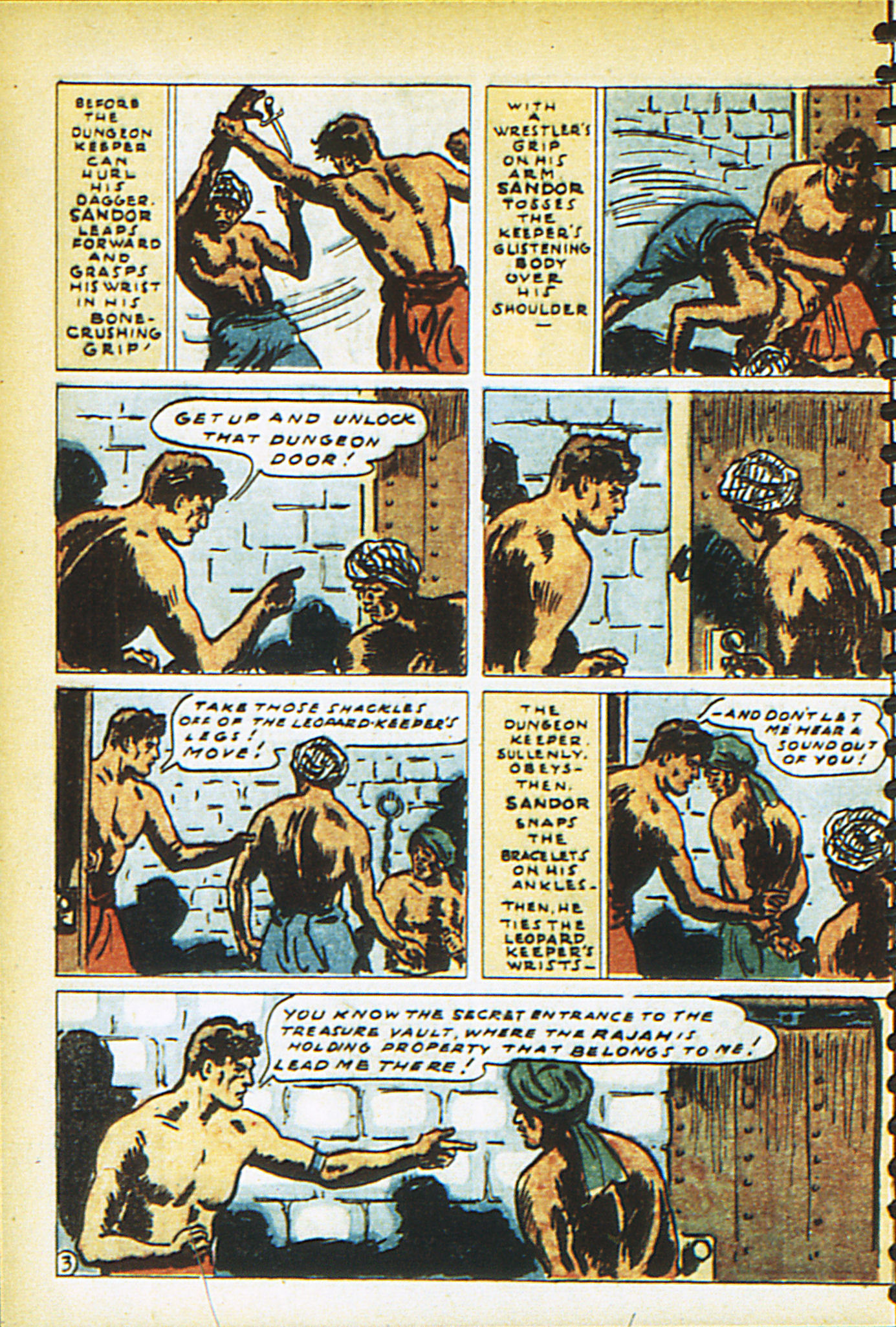 Read online Adventure Comics (1938) comic -  Issue #26 - 61