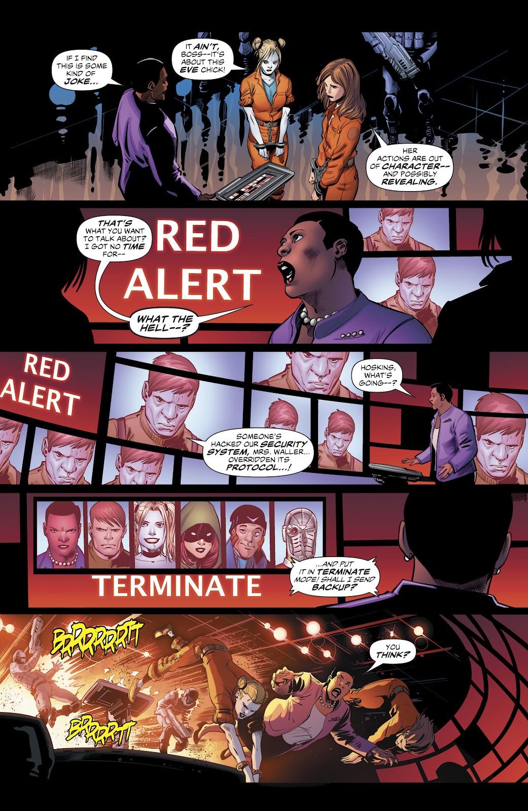 Read online Suicide Squad Black Files comic -  Issue #4 - 21