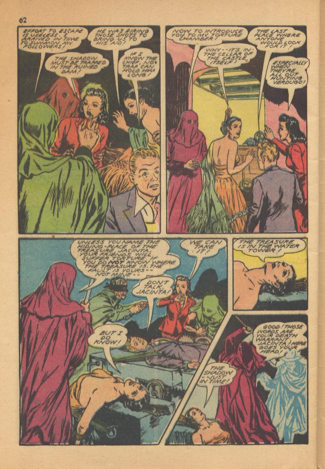 Read online Super-Magician Comics comic -  Issue #13 - 62