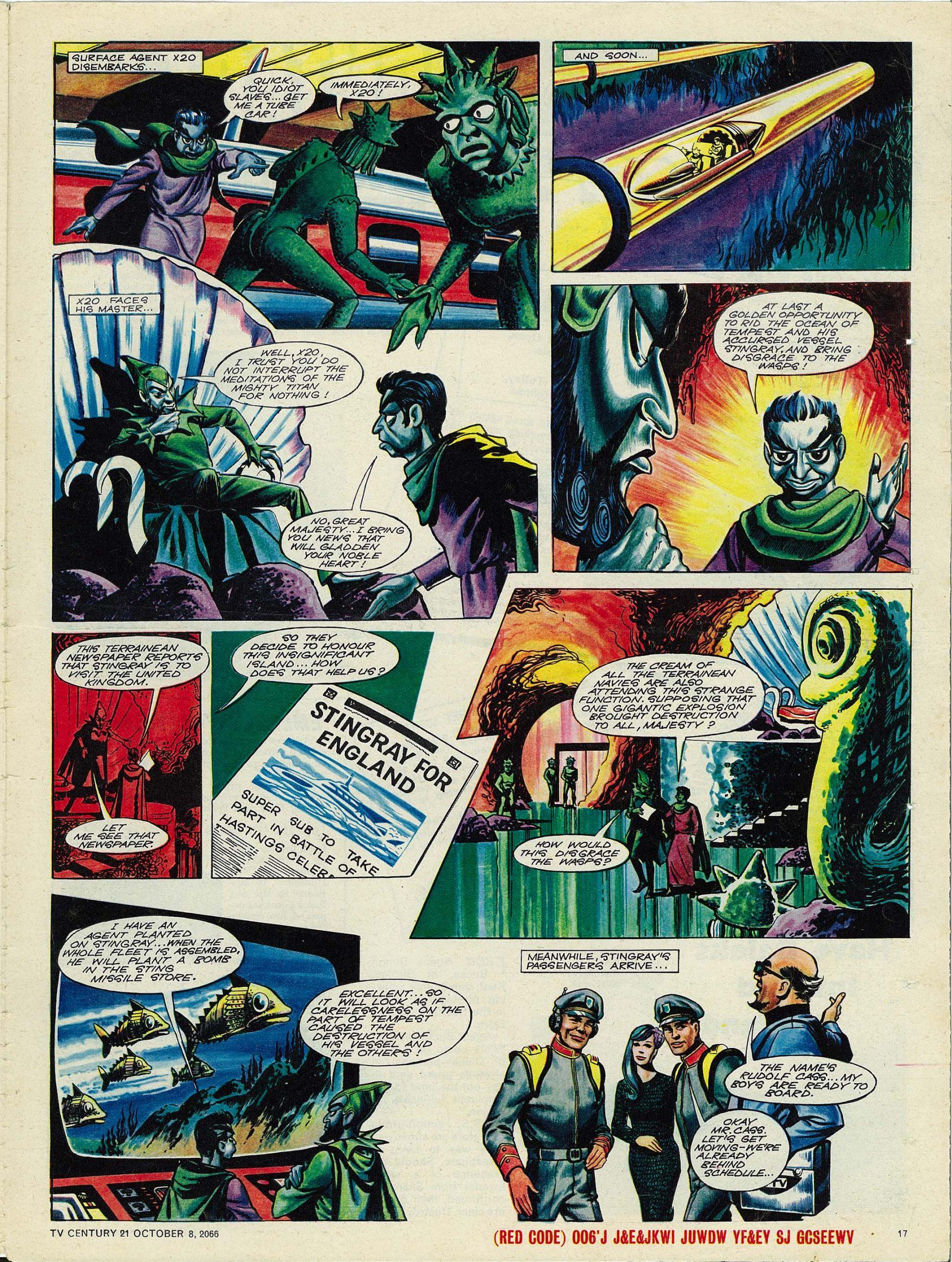 Read online TV Century 21 (TV 21) comic -  Issue #90 - 16