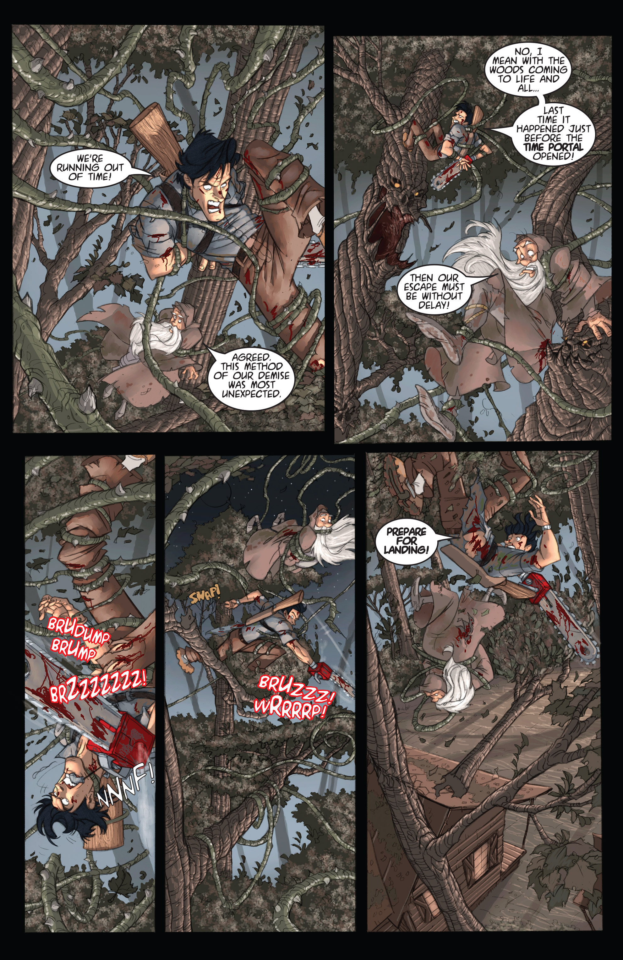 Read online Army of Darkness: Ashes 2 Ashes comic -  Issue #2 - 13